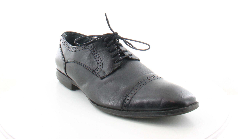 alfani denver black mens shoes size 10 m dress formal msrp