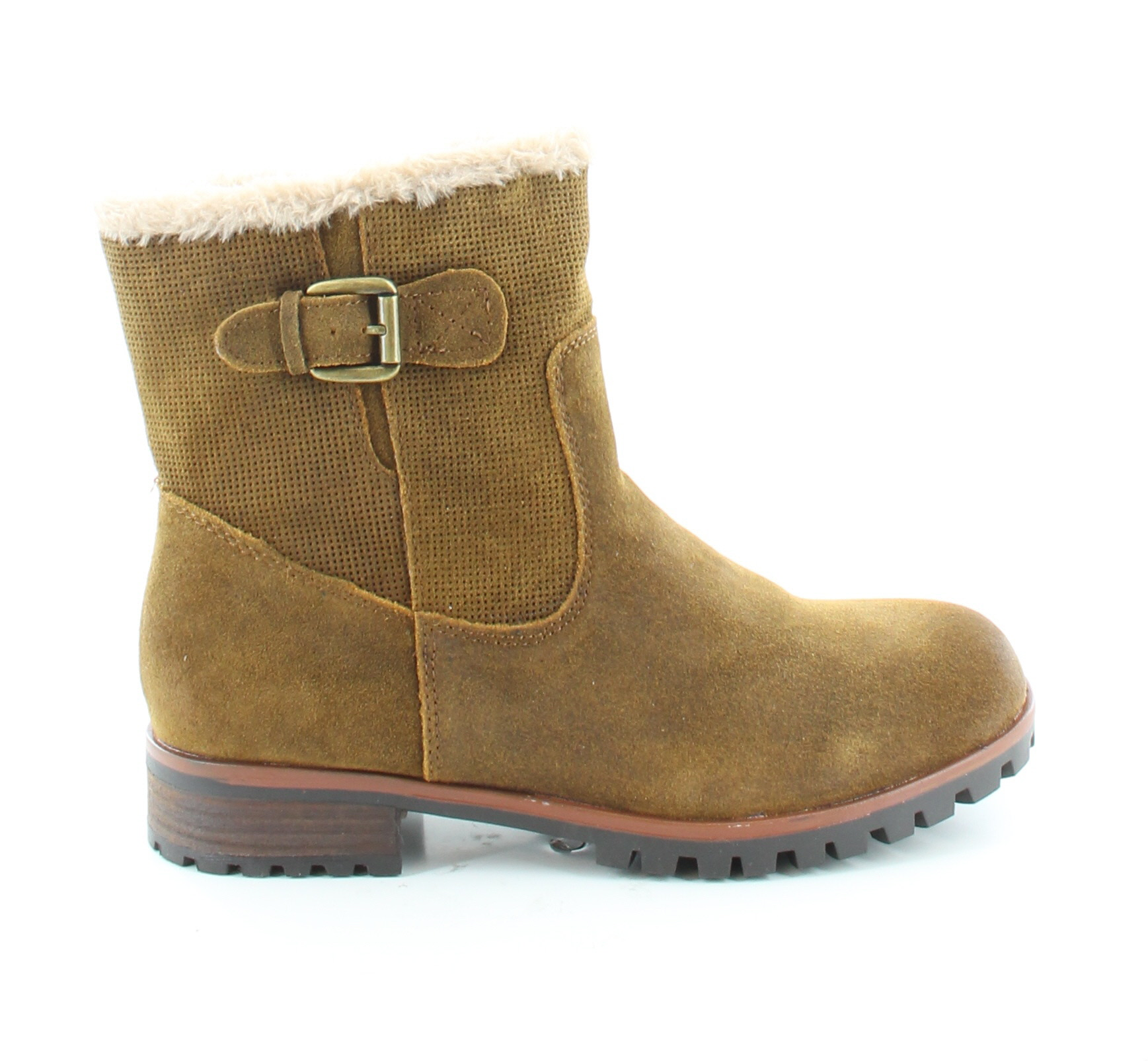 baretraps new fairlee brown womens shoes size 9 m boots