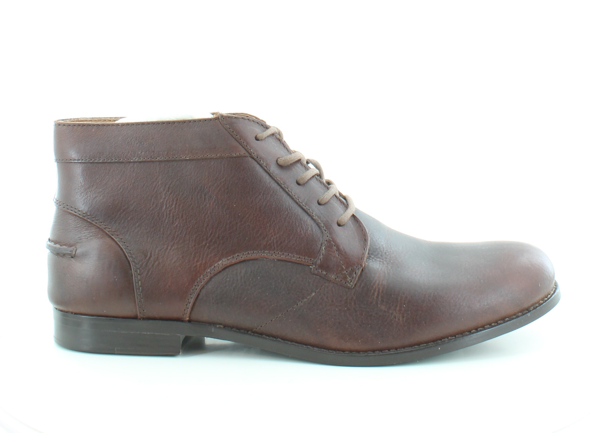 fossil new dayton brown mens shoes size 13 m boots msrp