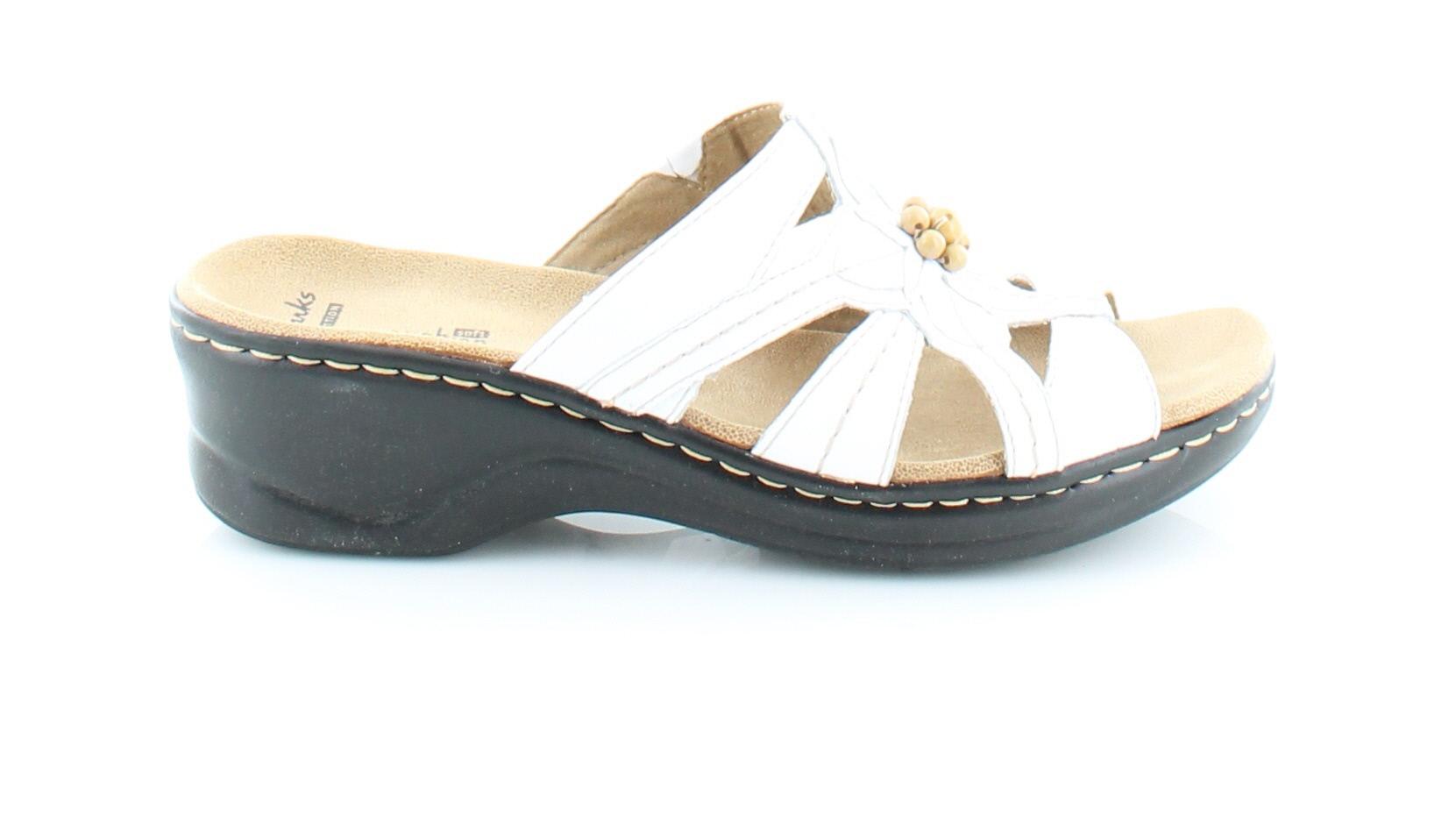 Clarks Lexi Myrtle White Womens Shoes Size 9 N Sandals ...