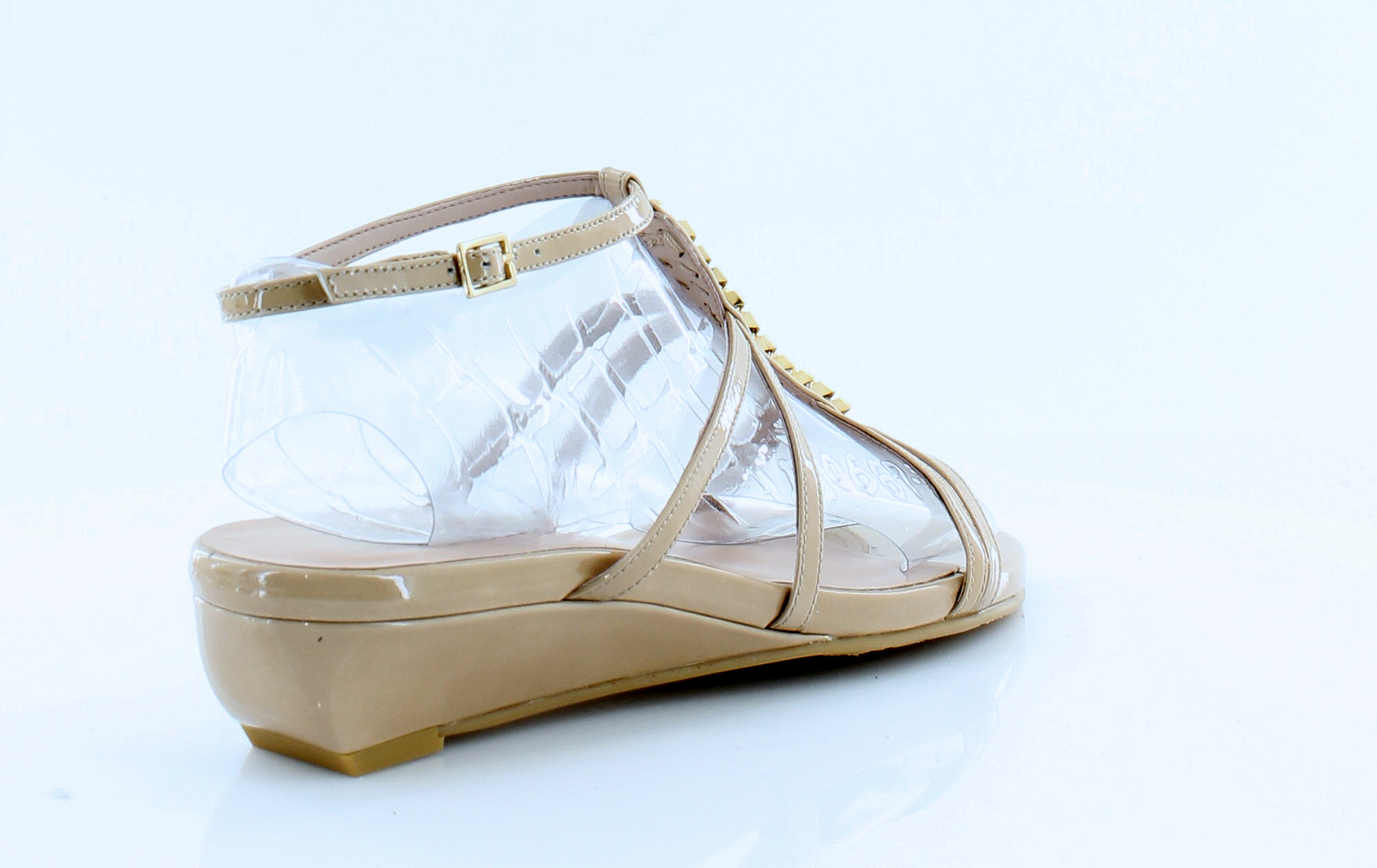 Stuart-Weitzman-New-Tiffy-Beige-Womens-Shoes-Size-7-5-M-Sandals-MSRP