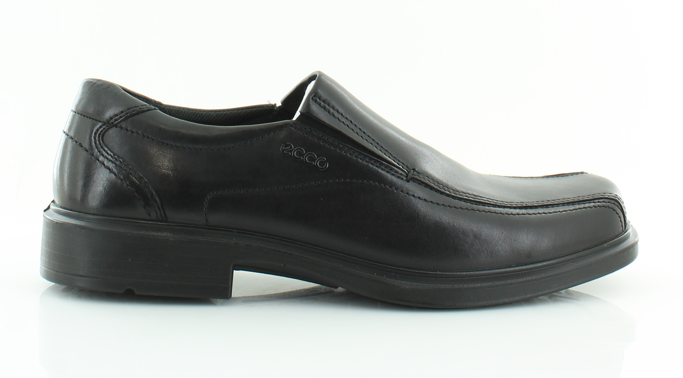 ecco new helsinki black mens shoes size 11 5 m dress