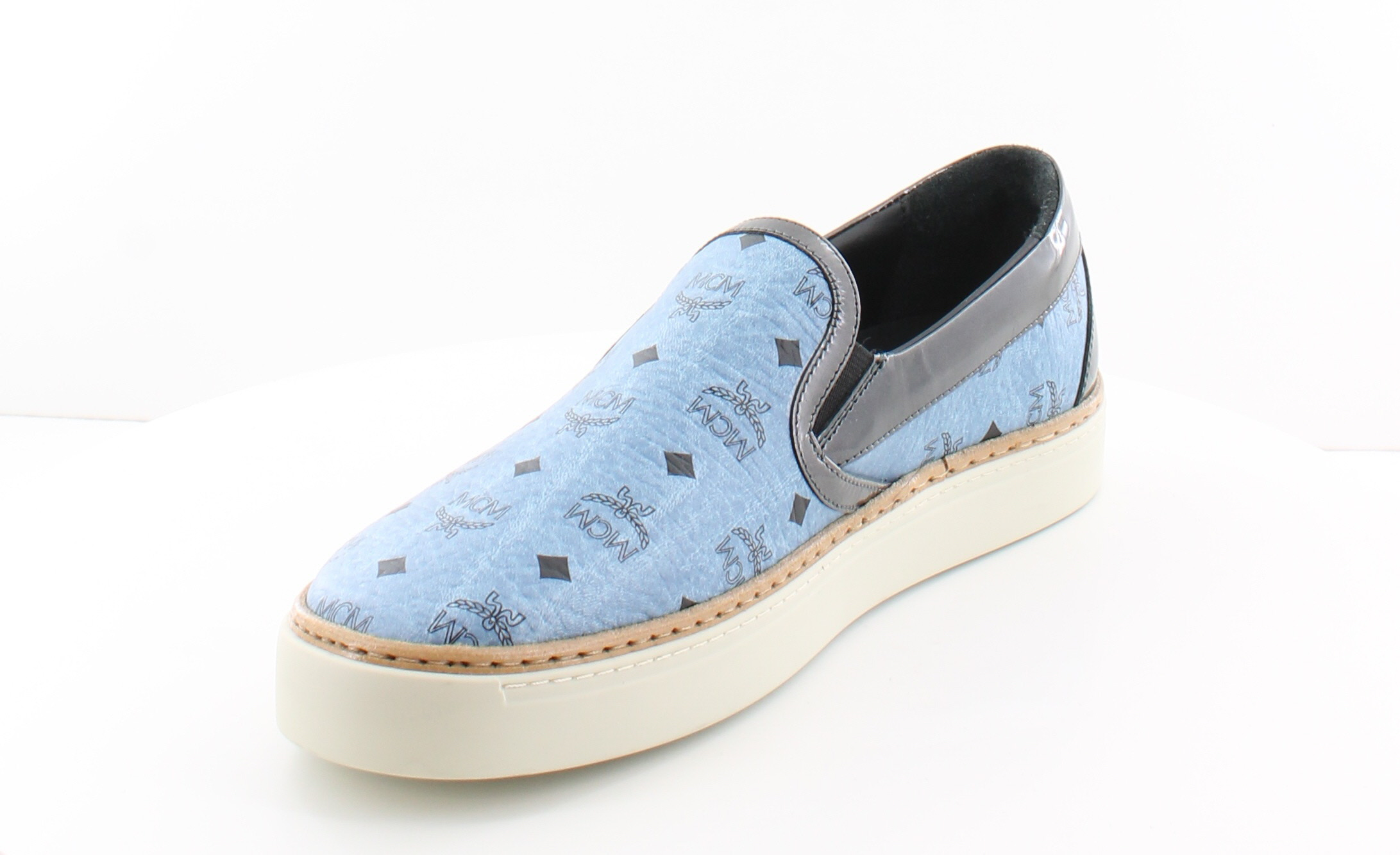 mcm by michalsky new visetos blue womens shoes size 8 5 m