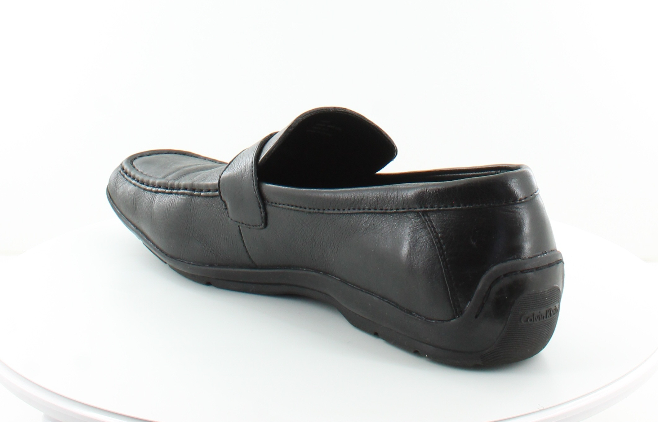 calvin klein heron black mens shoes size 13 m dress formal