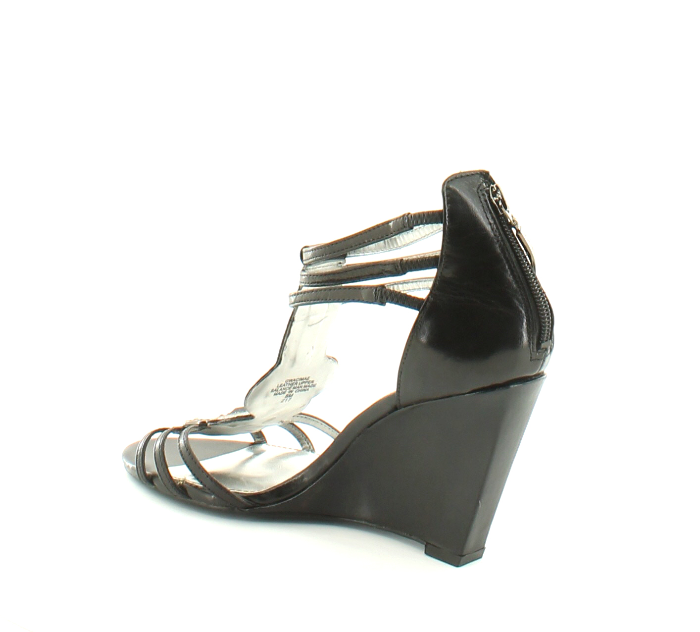 guess sport acimae black womens shoes size 8 m heels msrp