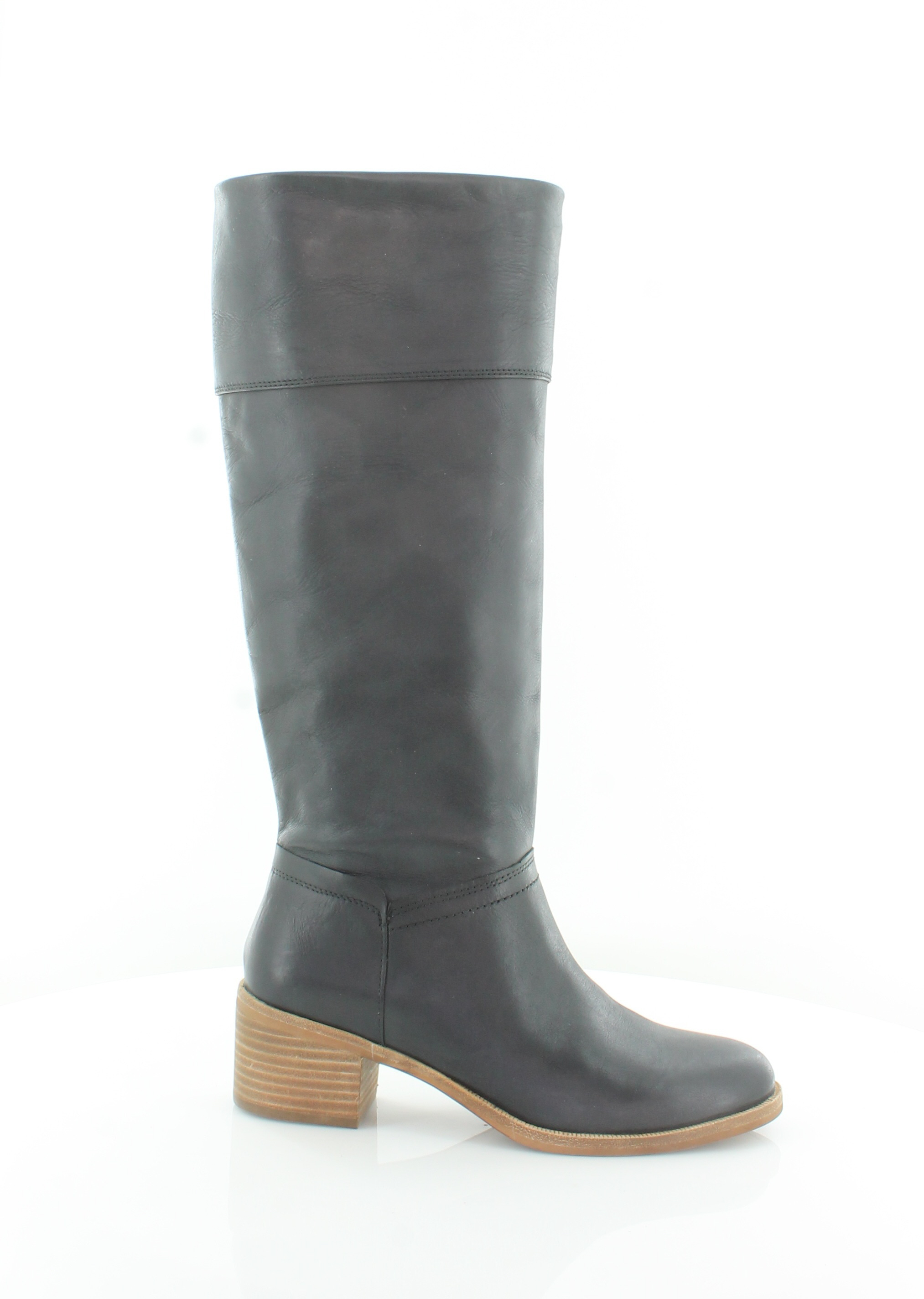 85e7457c3aea UGG NEW CARLIN Tall Black Womens Shoes Size 7 M Boots MSRP  250 ...