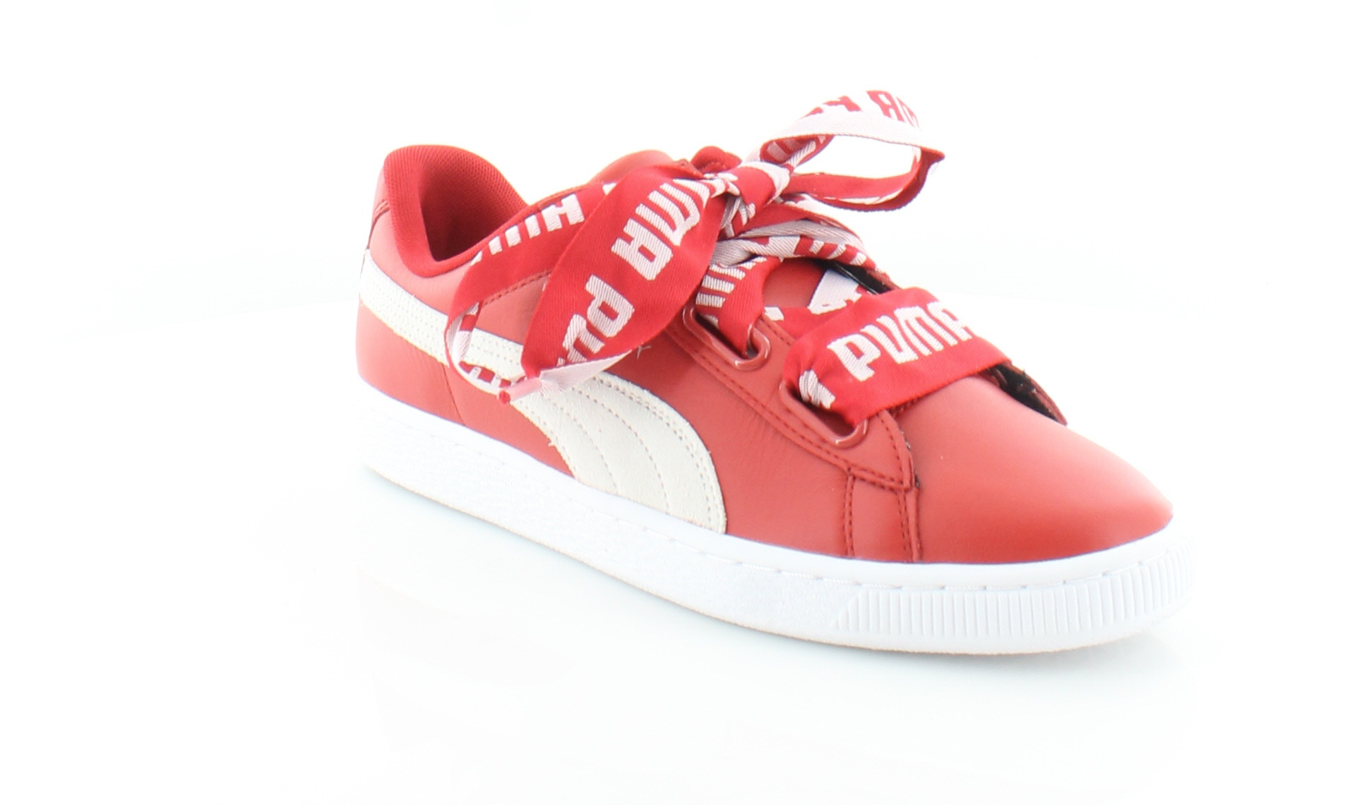 c3d84ed2d464 Puma Basket Heart Women s Fashion Sneakers Toreador-Puma White