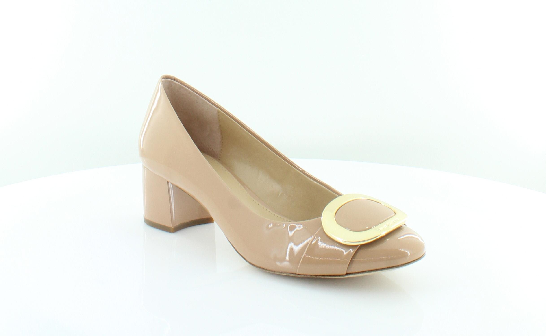 22698b619019 Michael Kors New Pauline Mid Pump Beige Womens Shoes Size 10 M Heels ...