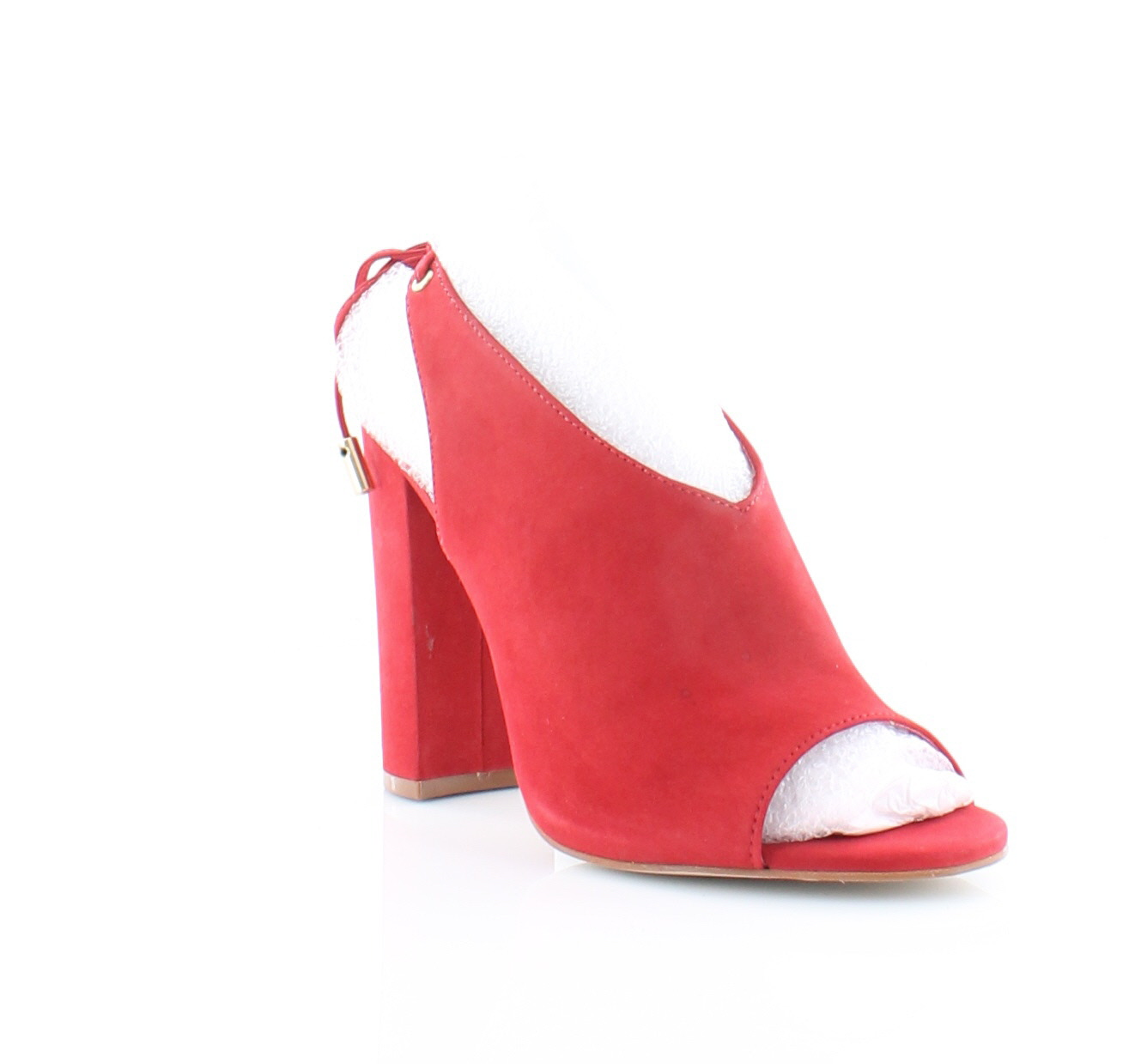 25f30ae11ae Steve Madden New Saffron Red Womens Shoes Size 7.5 M Heels MSRP  129 ...