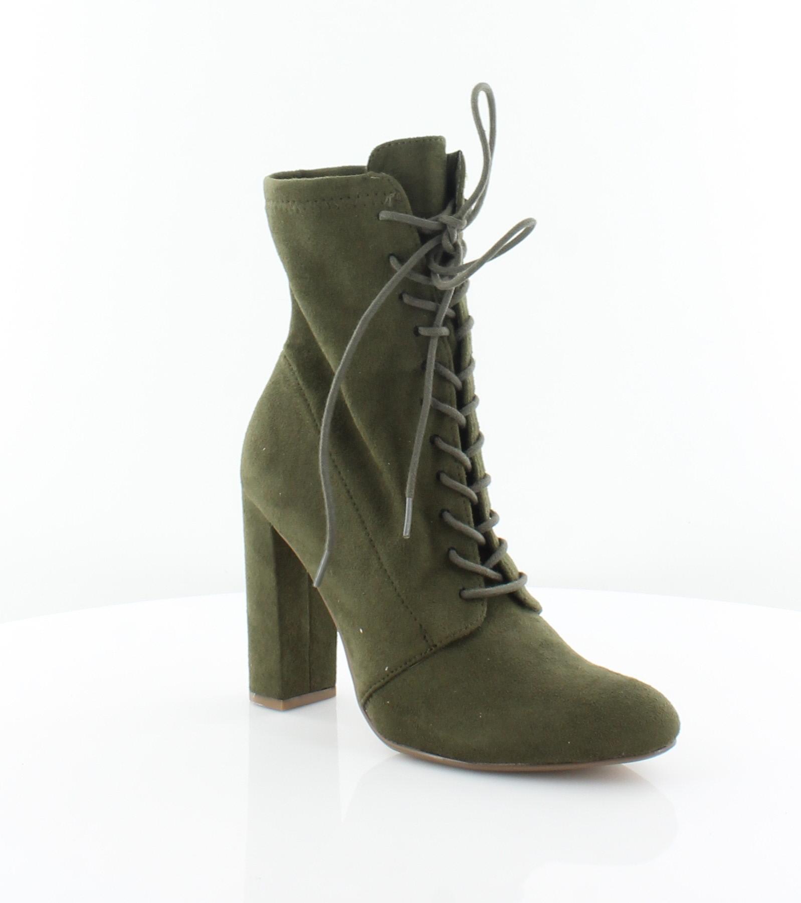Steve Madden New Elley Grün Damenschuhe Schuhes 5.5 Größe 5.5 Schuhes M Stiefel MSRP 99 0e9fd9