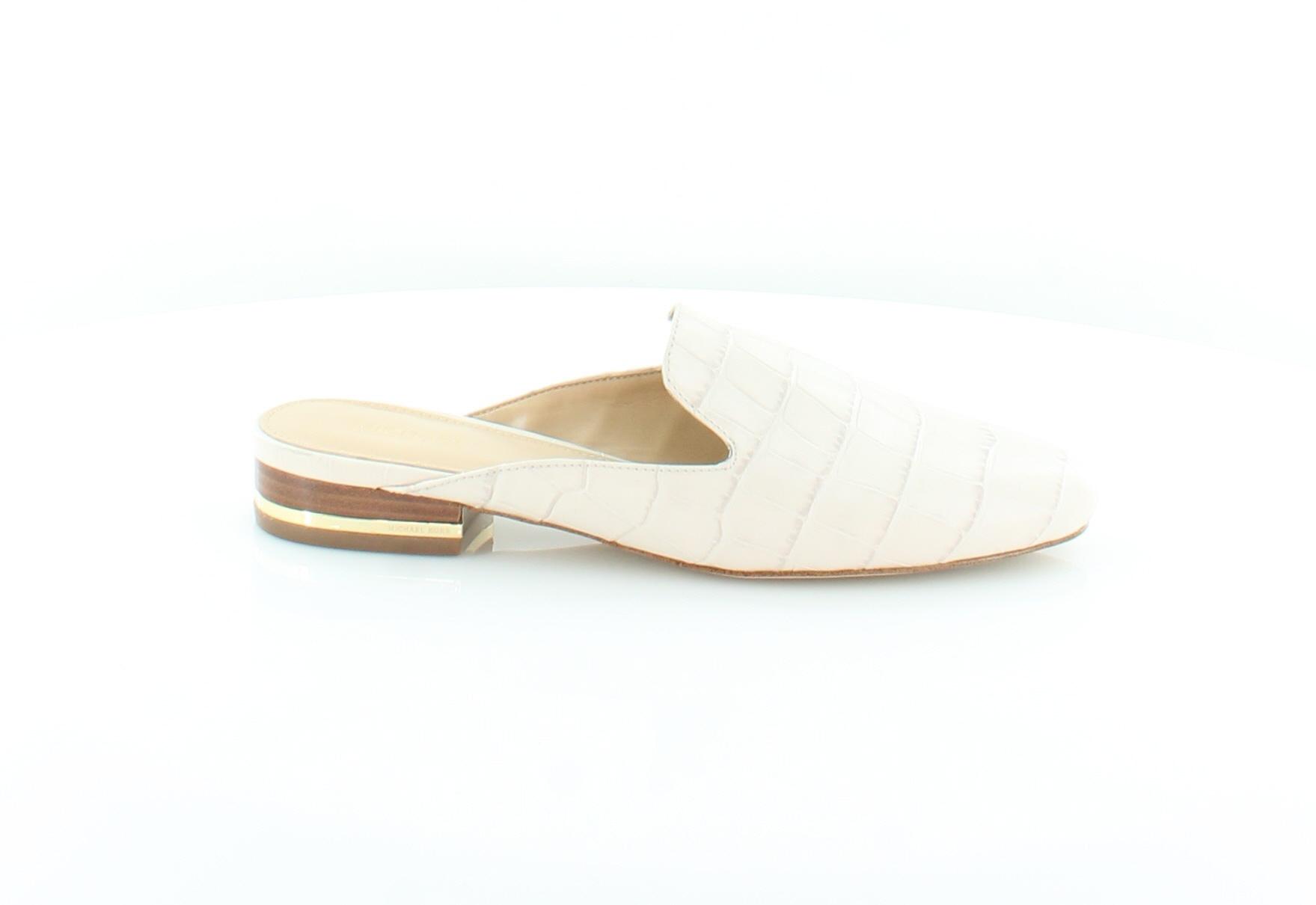 4b13a8b897ec2 Michael Kors New Natasha Slide Beige Womens Shoes Size 6 M Slippers MSRP   110
