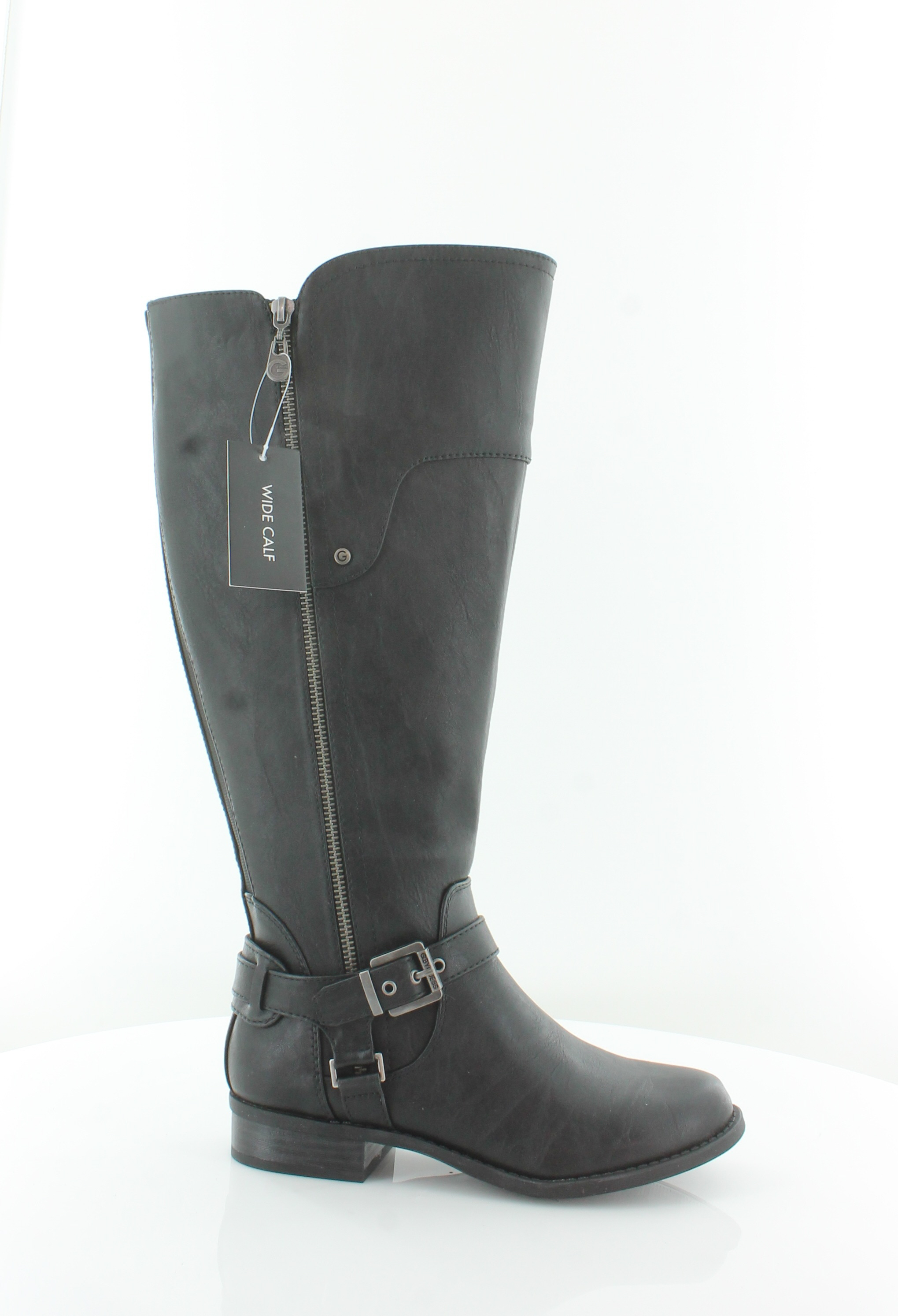 G By Guess Harson Tall Riding Boots 521 Black Multi 85 Us For Sale