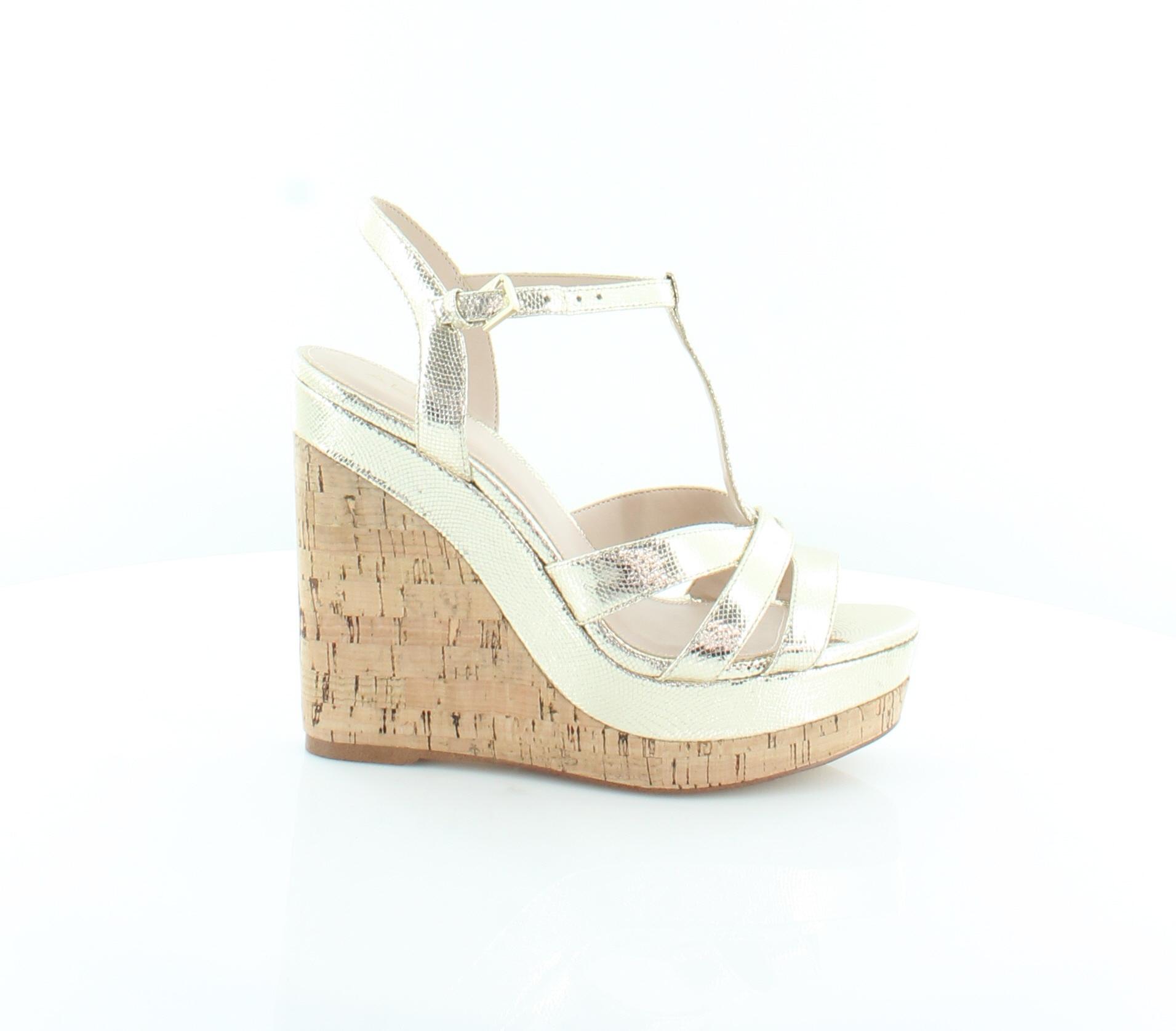 ALDO Gold Metallic Stiletto Heels Pumps Size US 8 Regular (M, B)