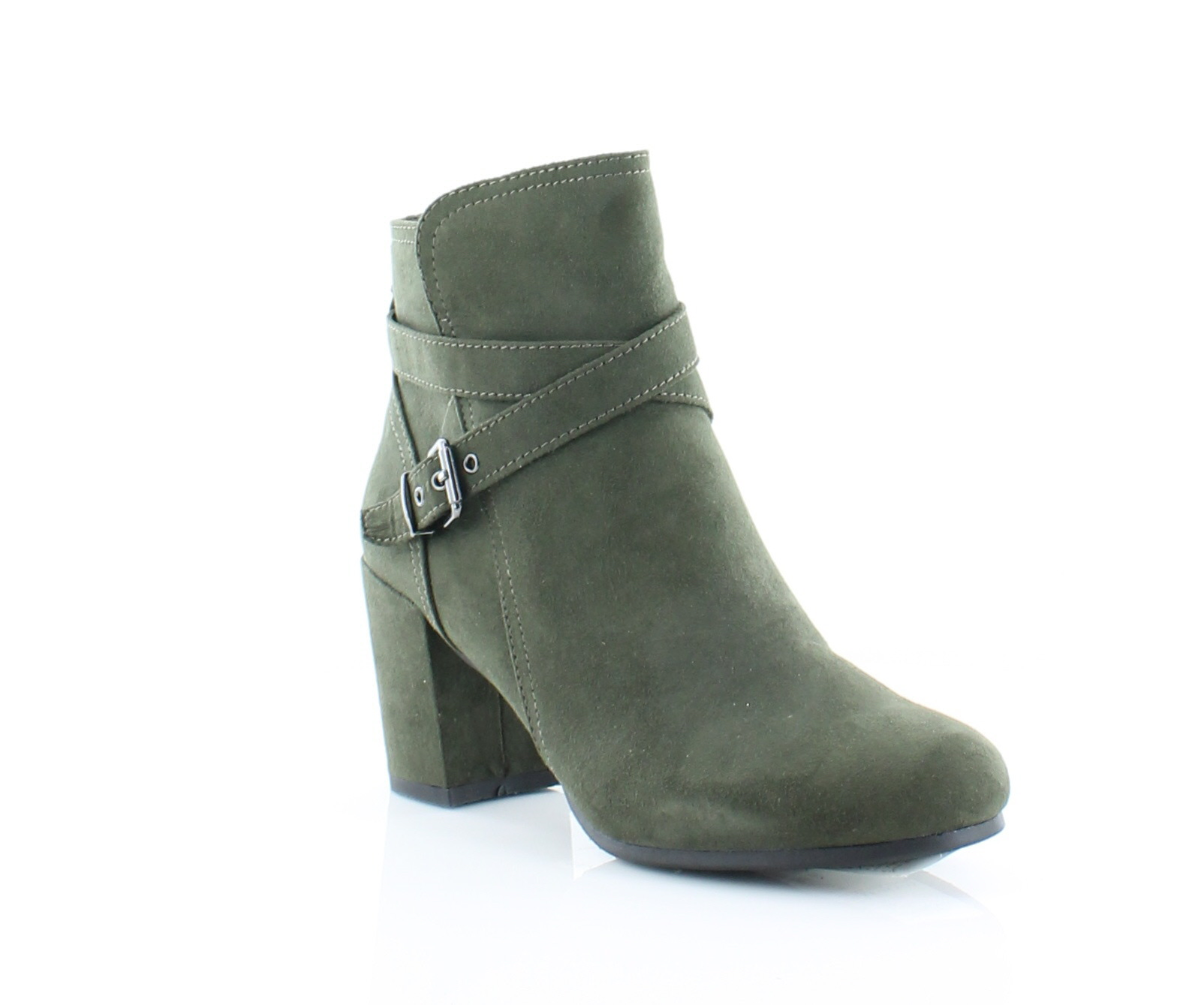 Madden Girl Righton Women's Boots Olive Size 6.5 M