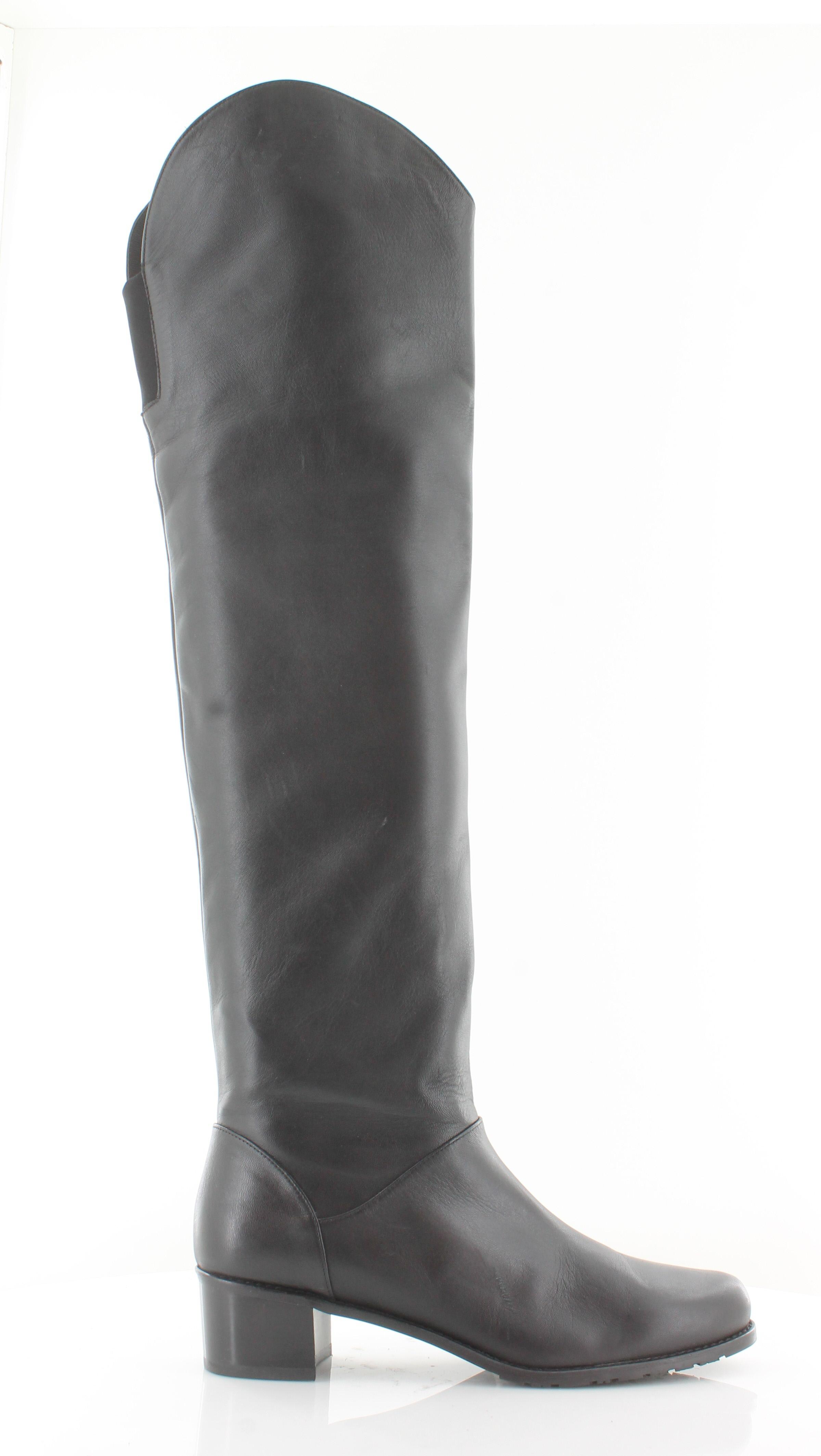 Stuart Weitzman Nudunkirk Women's Boots Black Size 8 M