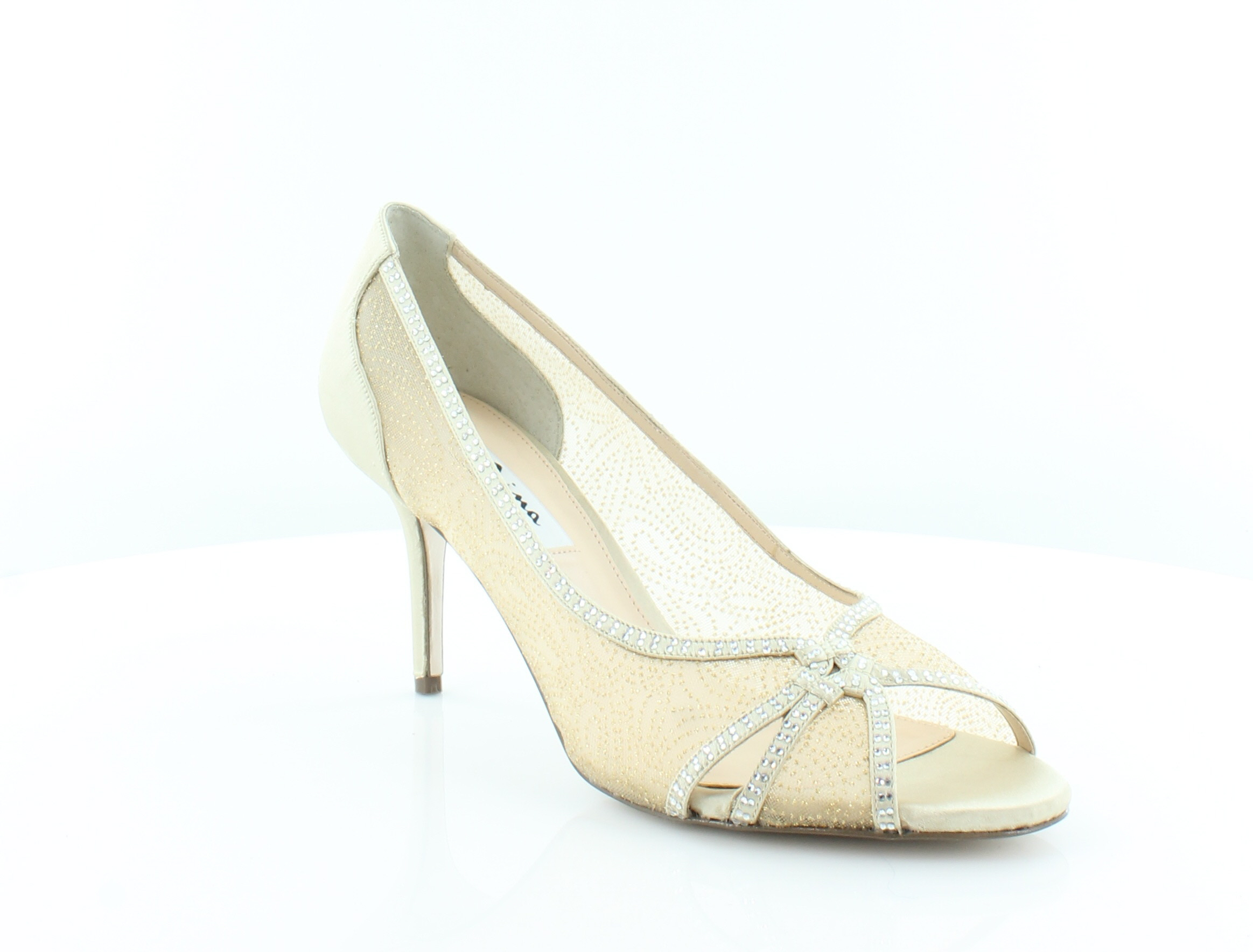 Nina Fresh Women's Heels Gold Size 10 M