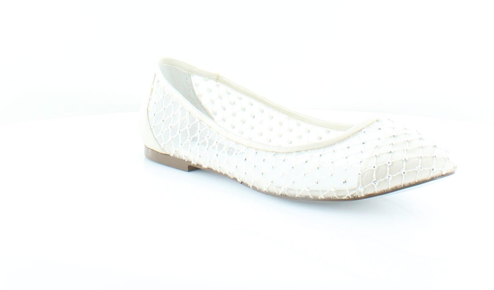 Nina Pauline Women's Flats & Oxfords Ivory Crystl Size 10 M