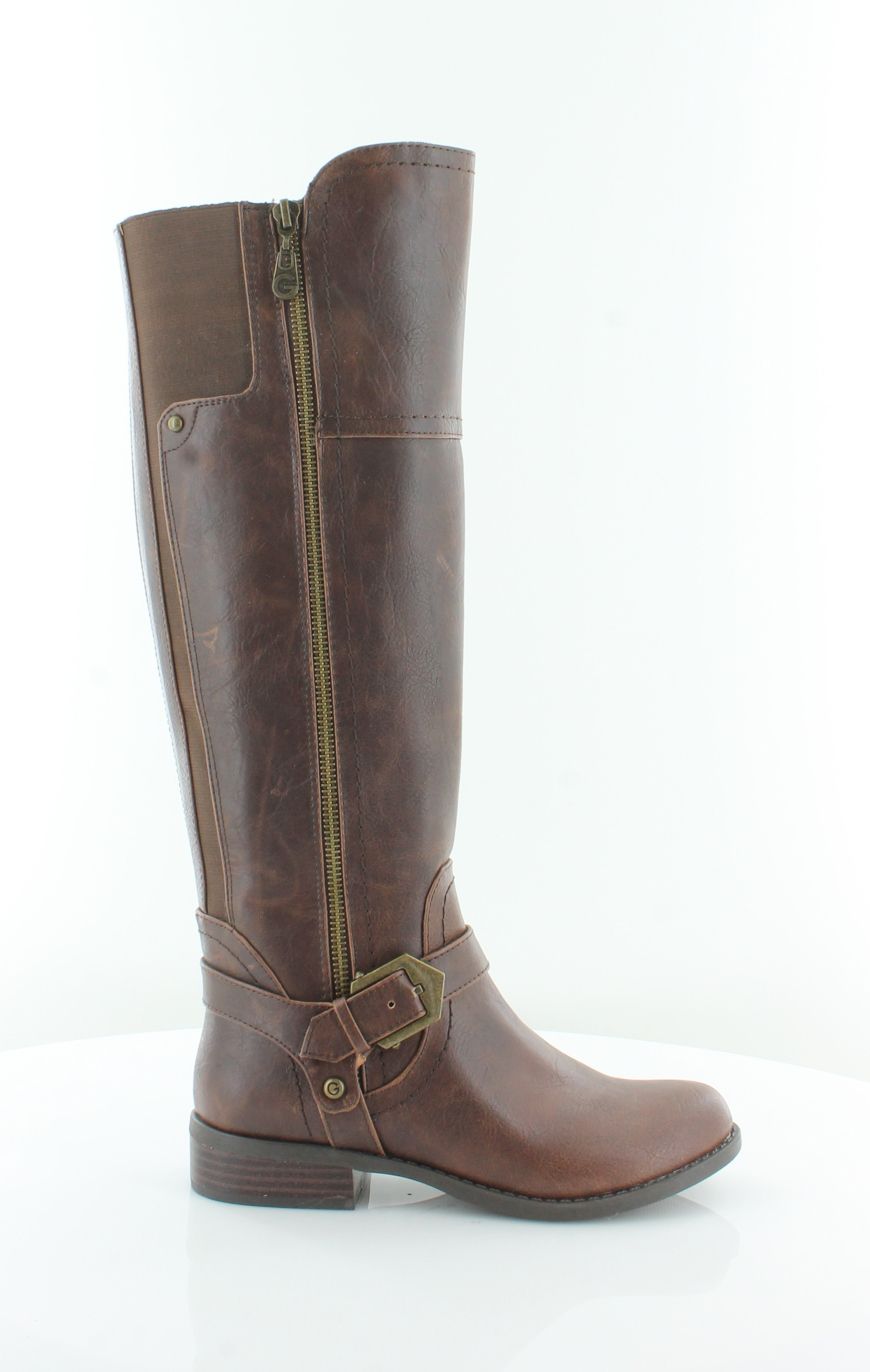 9dd8a0c10fe G by Guess Hailee Brown Womens Shoes Size 5 M Boots MSRP $89 ...