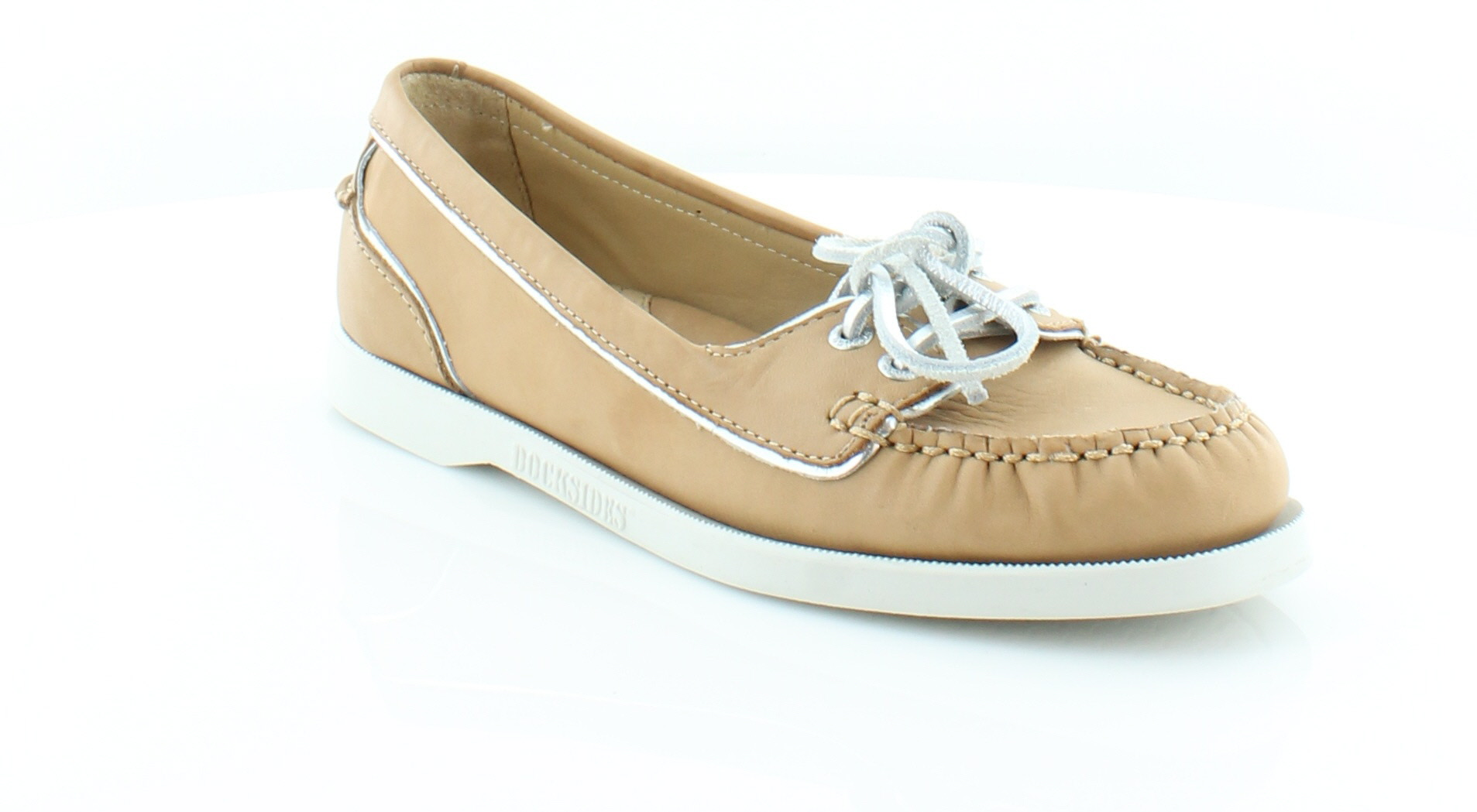 Sebago Docksides Women's Flats & Oxfords Tan Size 6.5 M