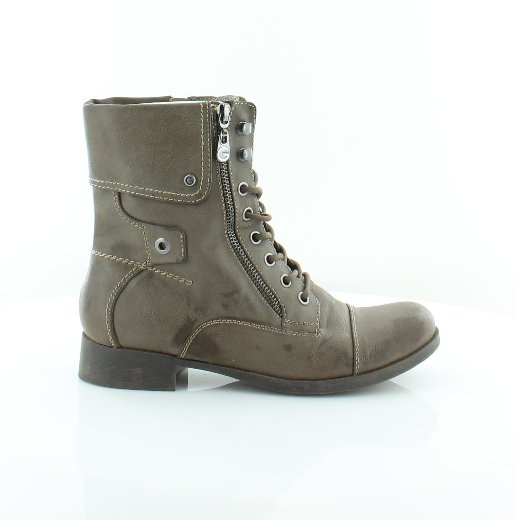 G by Guess Banks Women's Boots Taupe Size 7.5 M