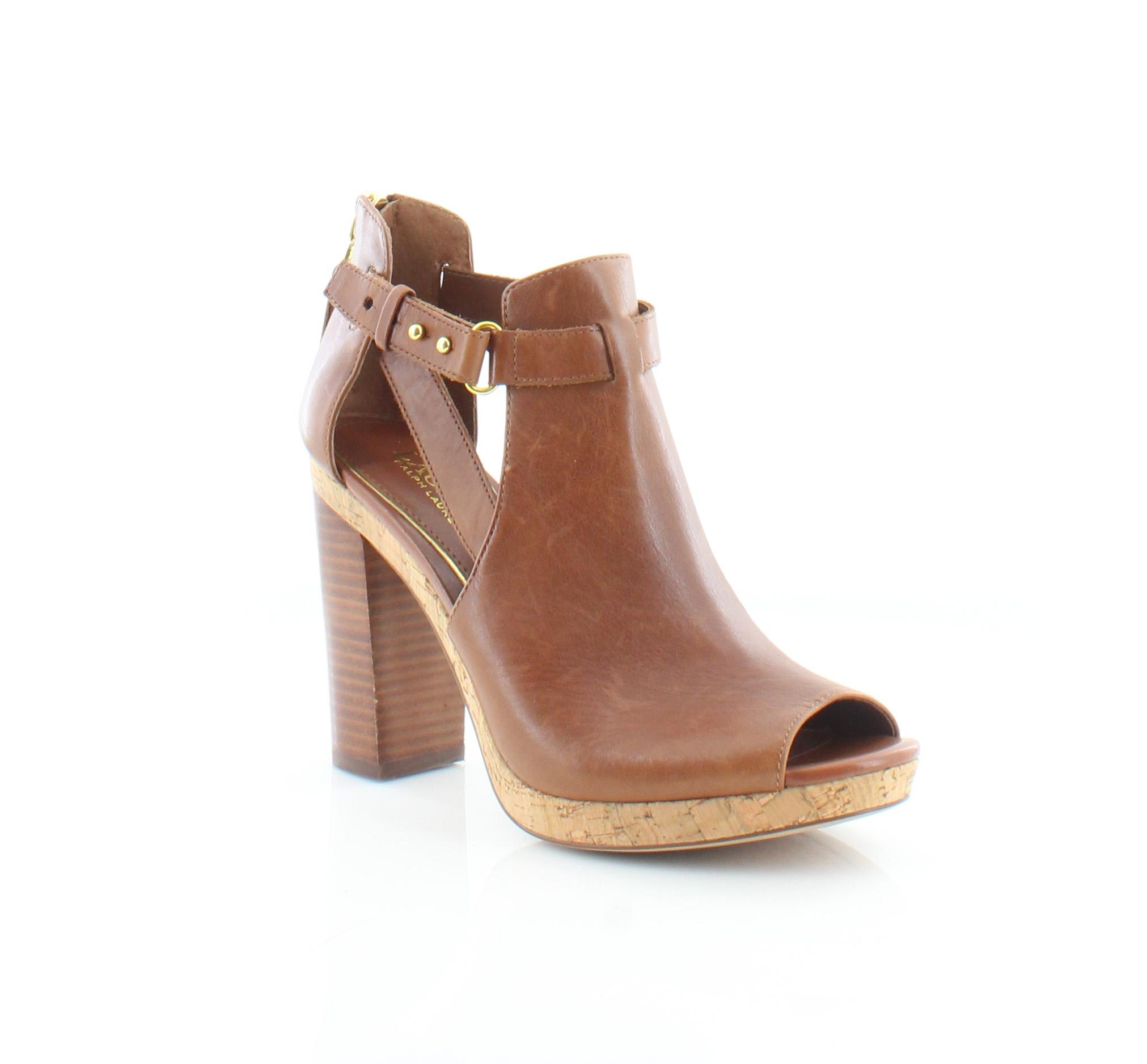Lauren Ralph Lauren Fiana Women's Sandals & Flip Flops Polo Tan Size 7.5 M