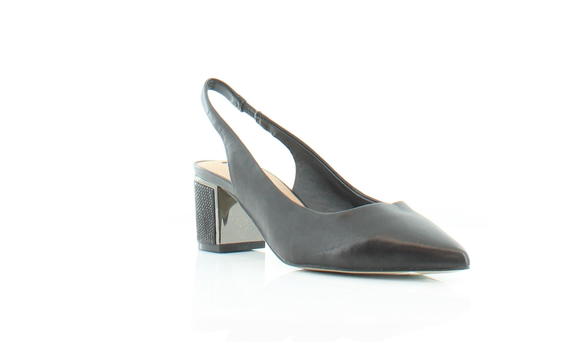 BCBGeneration Peter Pump Shoes Black Suede Size US 8B TT23