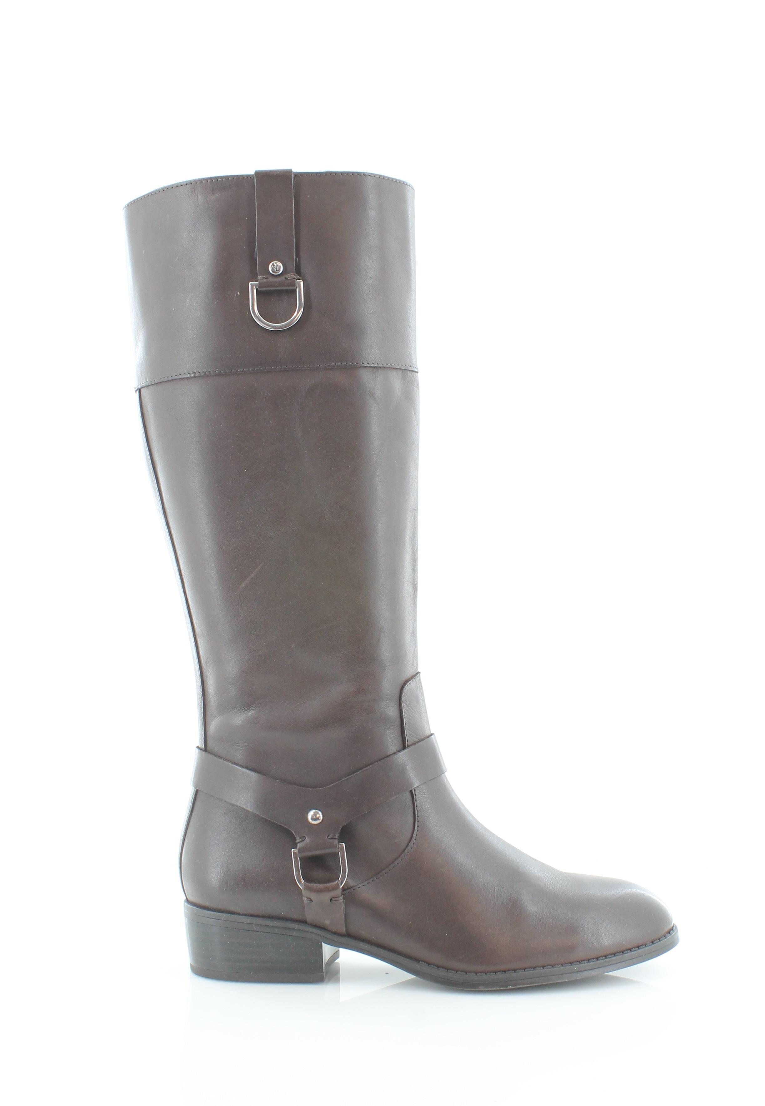 Ralph Lauren Mesa Mesa Mesa Marrón Zapatos para mujer Talla 8 M botas MSRP  179  venta caliente en línea