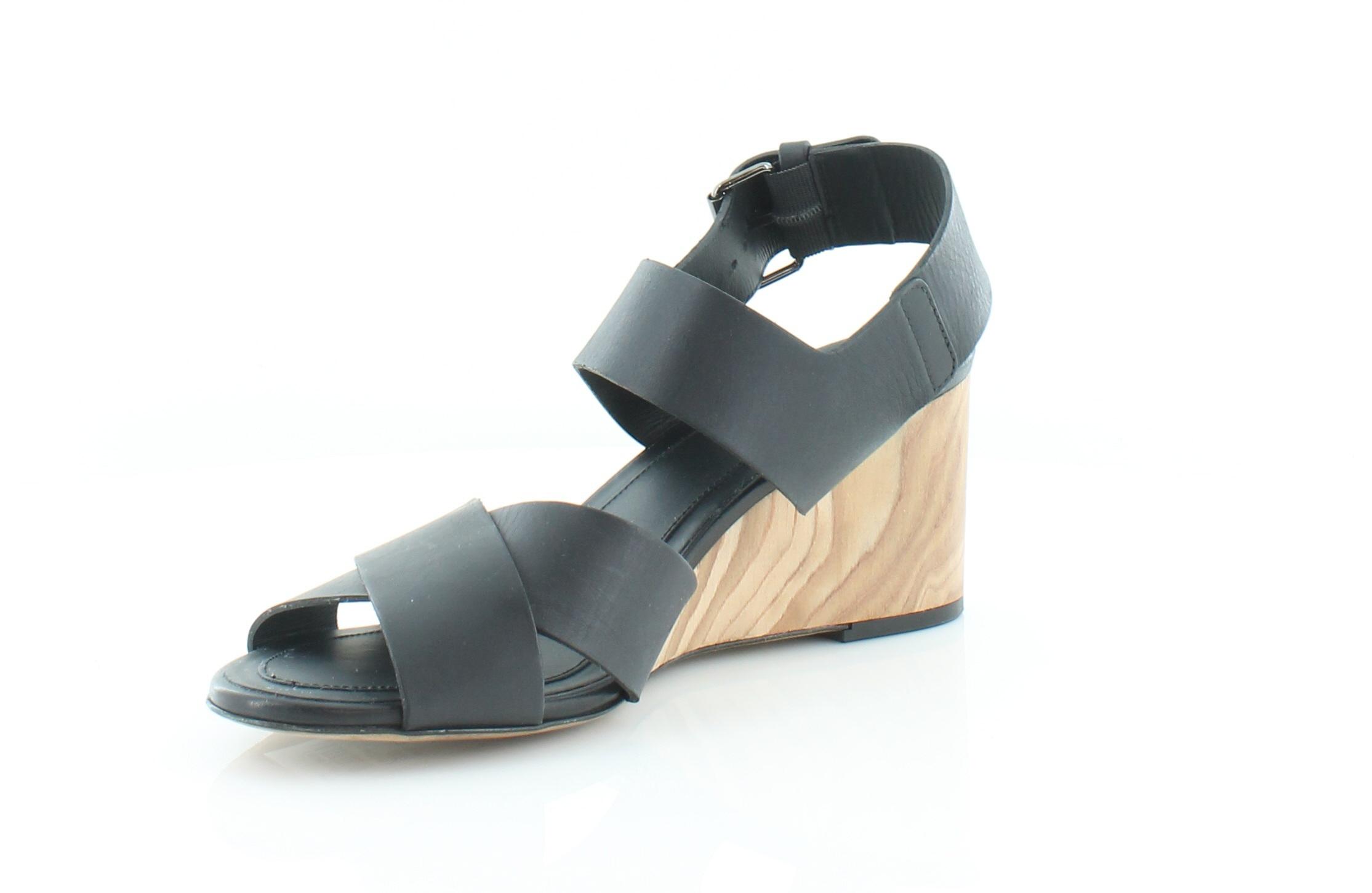 VINCE Gwyn Black Womens shoes Size 8.5 M Sandals Sandals Sandals MSRP  375 29520e
