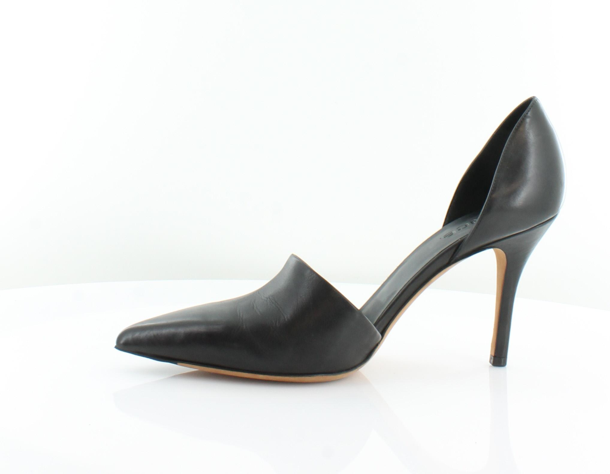 221c3602db7 VINCE Claire Black Womens Shoes Size 9.5 M Heels MSRP  375 ...