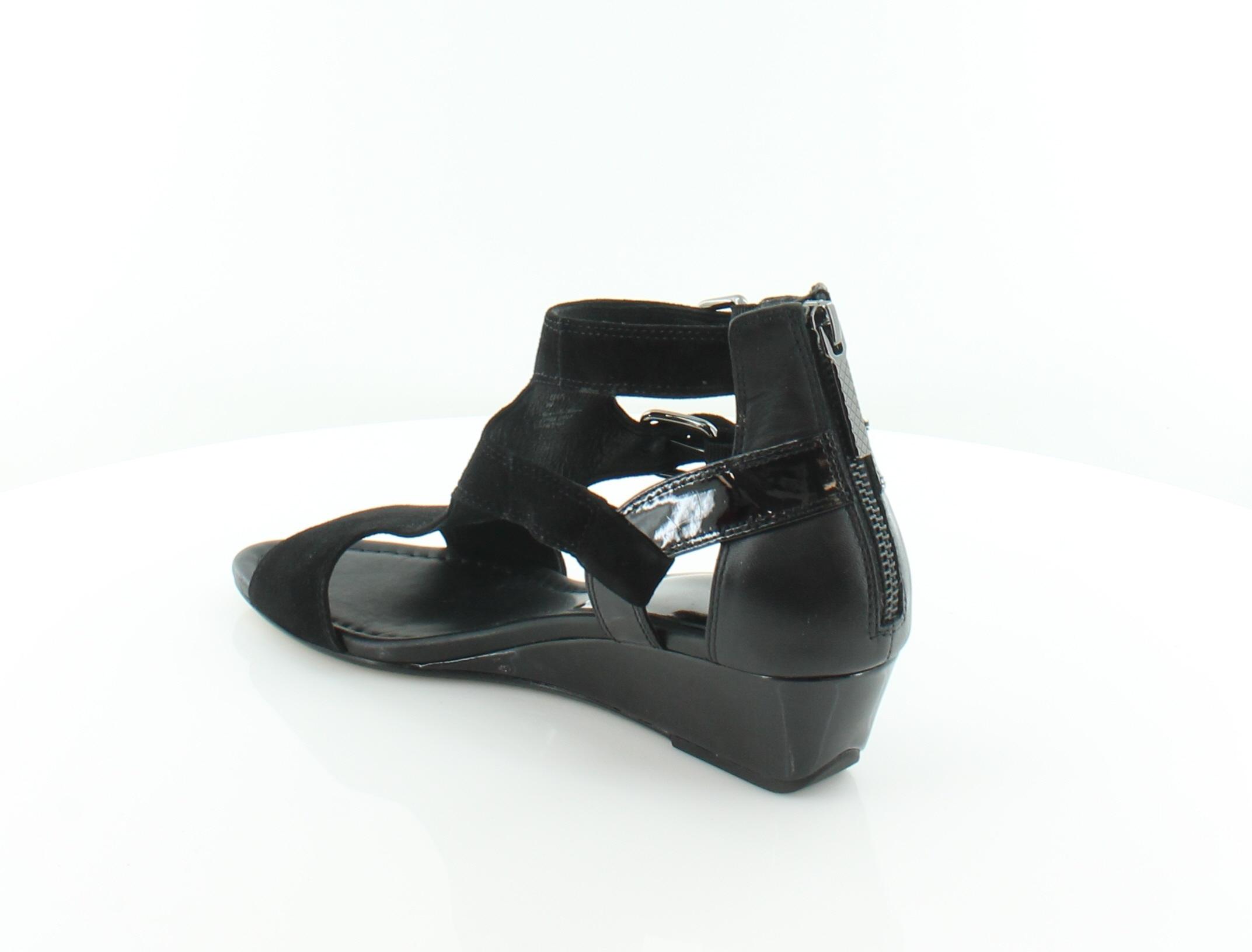 Donald J Pliner Pliner J Eden Negro Sandalias De Mujer Zapatos Talla 8.5 M MSRP  218 508308