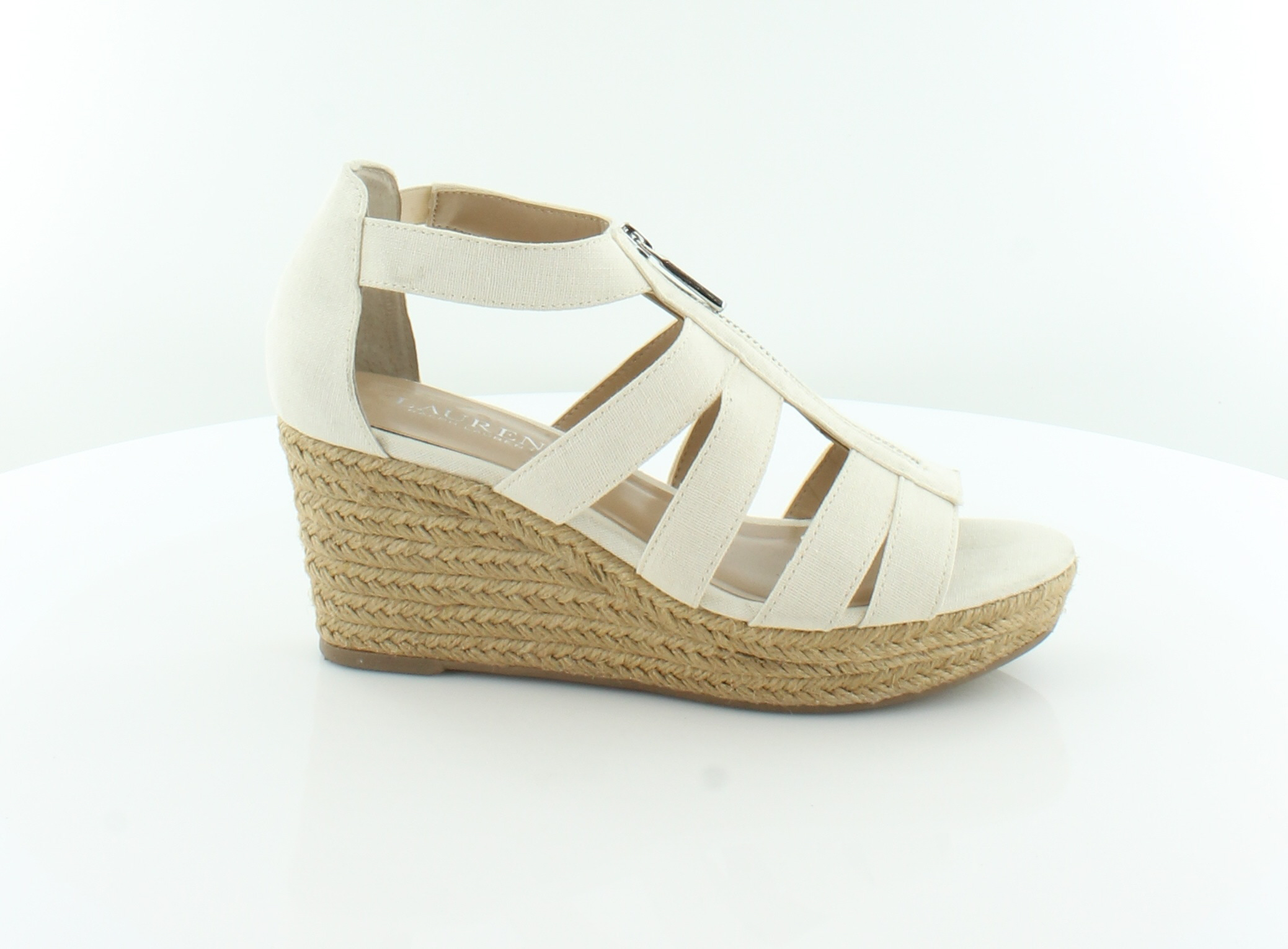 Lauren Ralph Lauren Kelcie Beige M Womens Shoes Size 7 M Beige Sandals MSRP $79 440b54