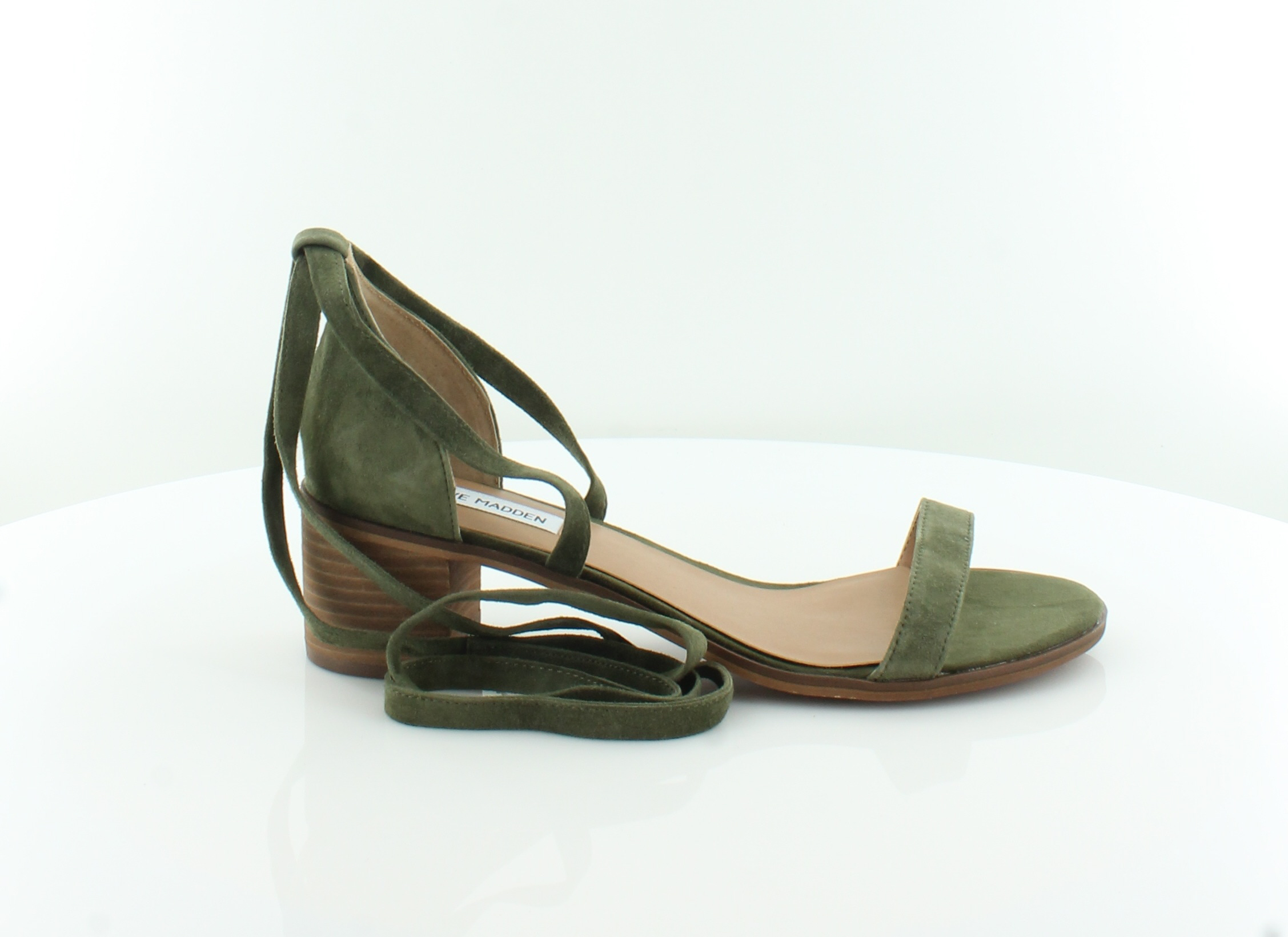 9c562f75eb9 Steve Madden New Rizza Green Womens Shoes Size 11 M Sandals MSRP  79 ...