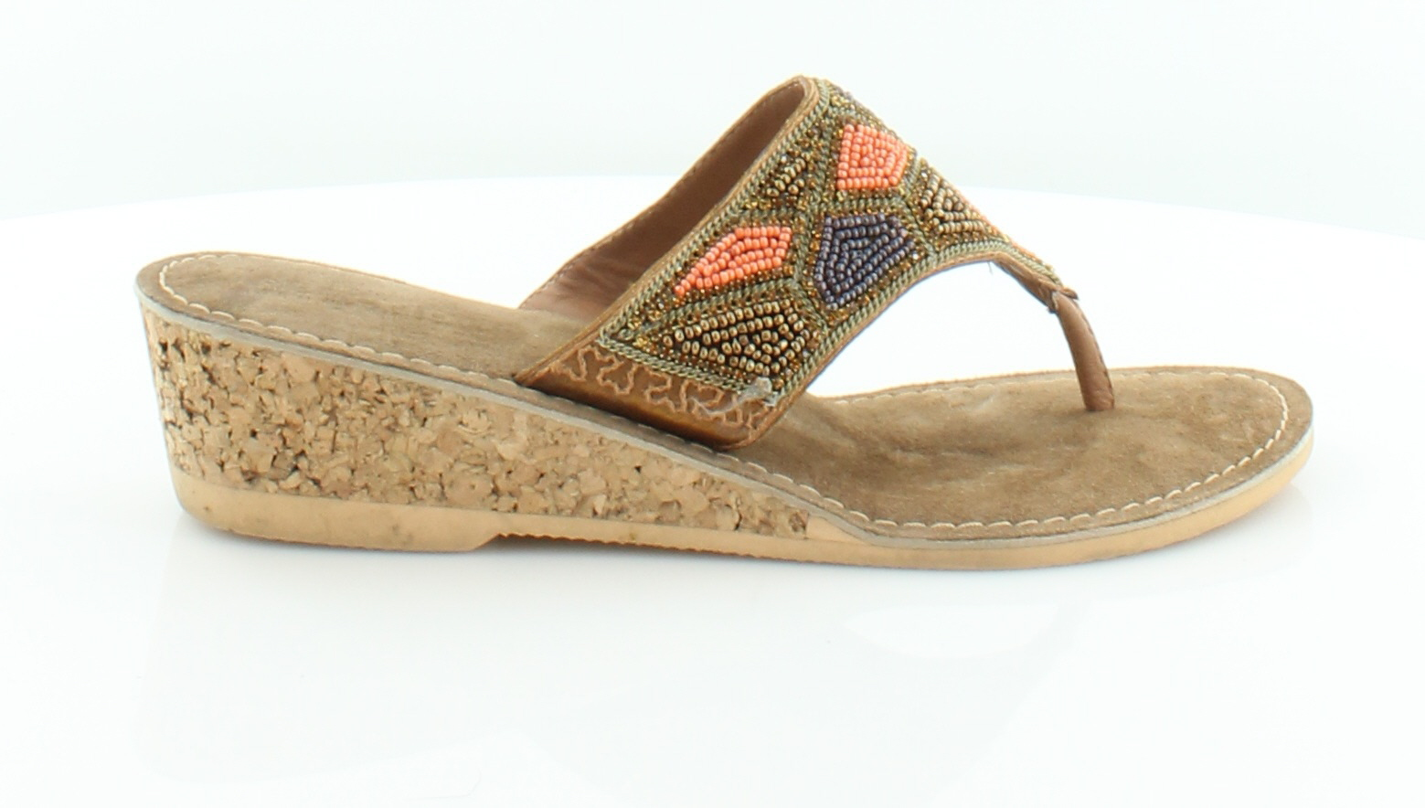 Kenneth Cole Reaction Playful Brown Womens Shoes Size $59 8 M Sandals MSRP $59 Size 3e6765