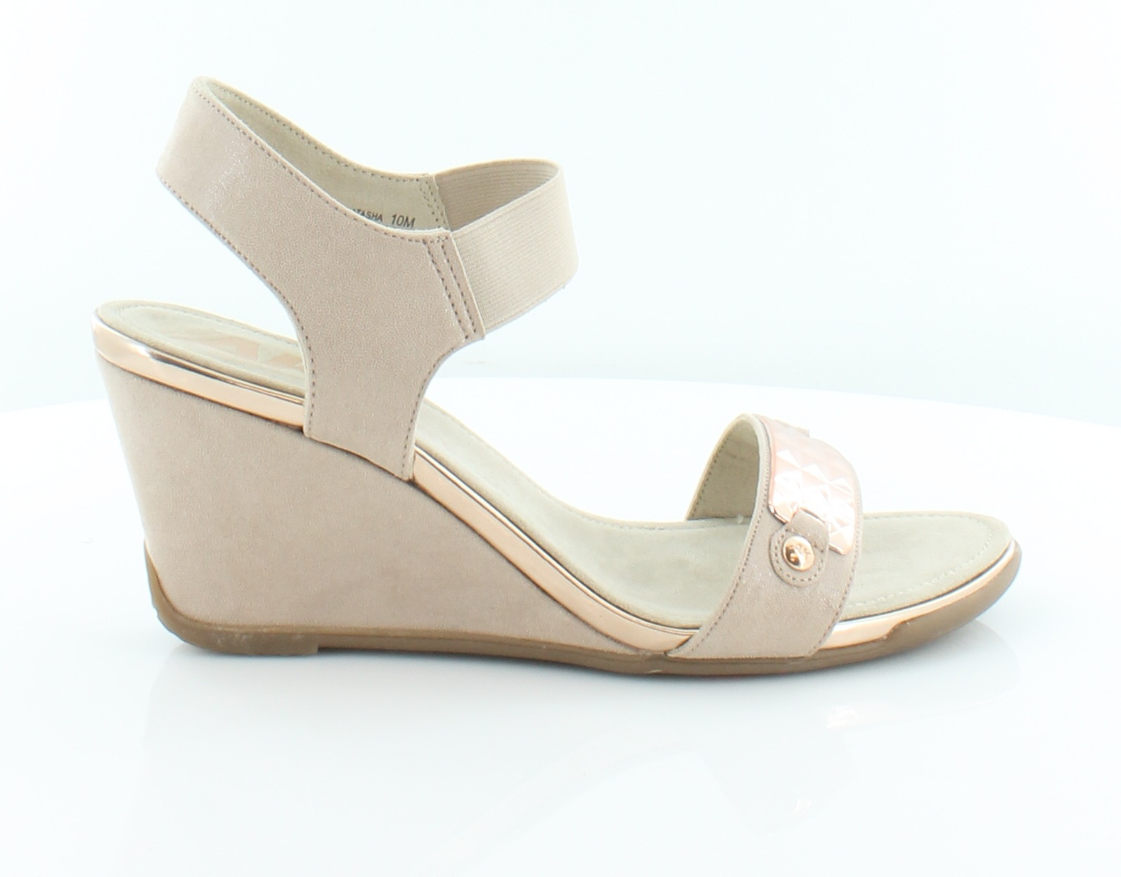 10 Klein Anne Sandals Beige Size Msrp70 Womens M Latasha Shoes rCBeWxod
