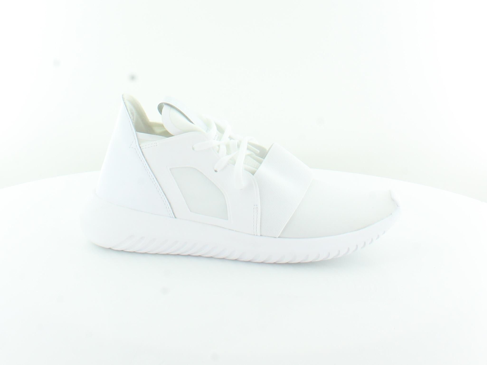 Adidas Tubular Defiant White Womens Shoes Size 5 M Athletic MSRP $110