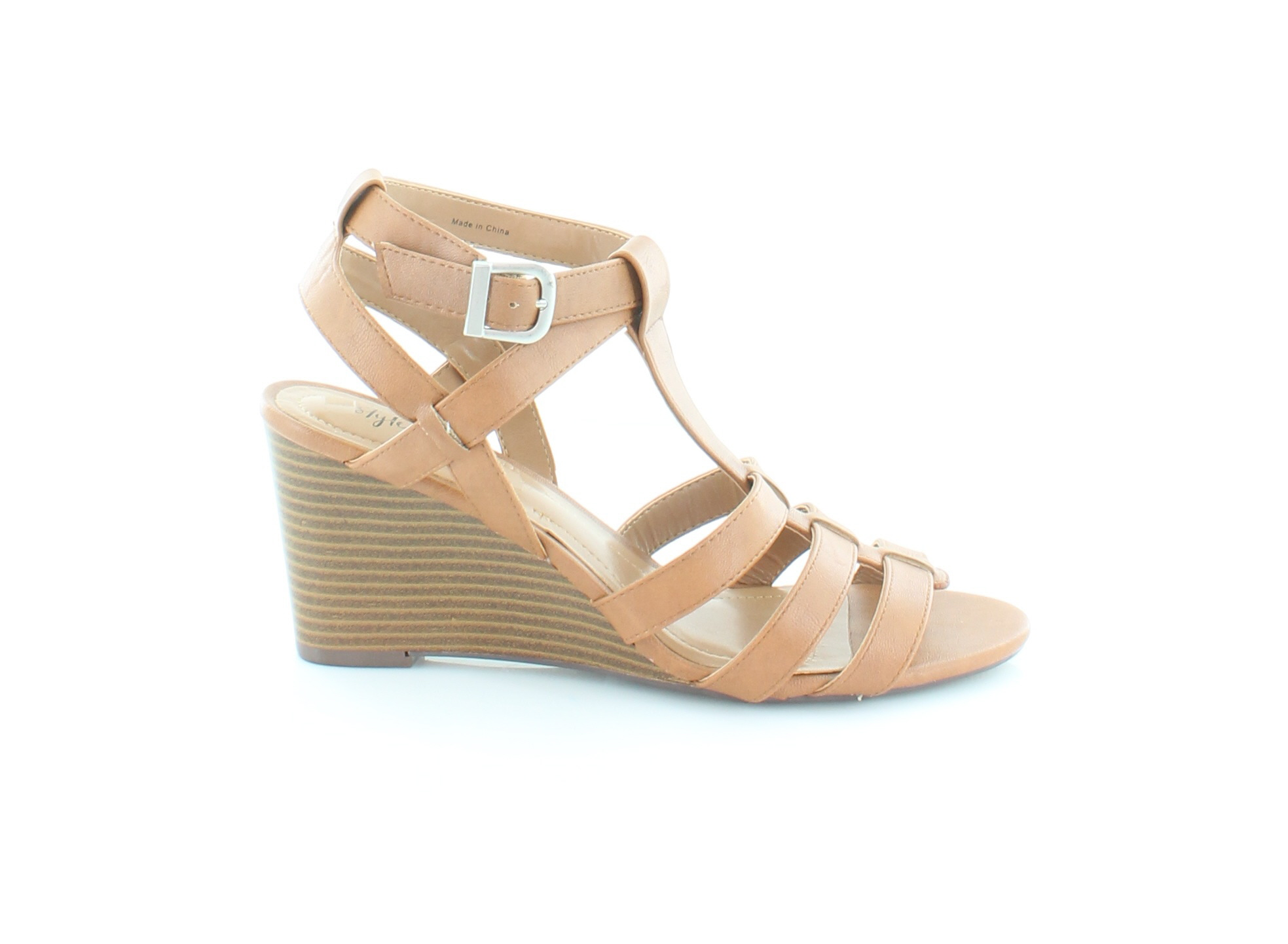 Style & Shoes Co. Haydar Brown Womens Shoes & Size 9.5 M Sandals MSRP $69.99 cf6ae7