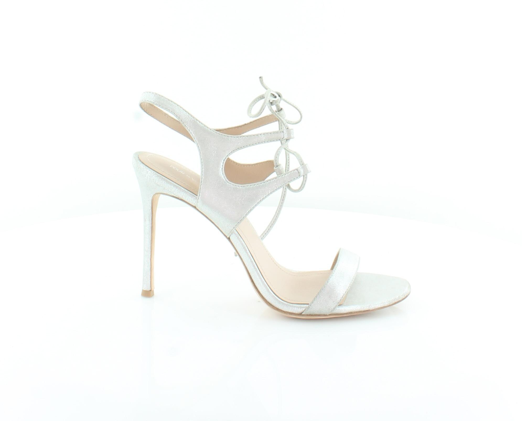 Pour La Victoire Elisa Silver Womens shoes Size Size Size 9.5 M Sandals MSRP  245 c47854