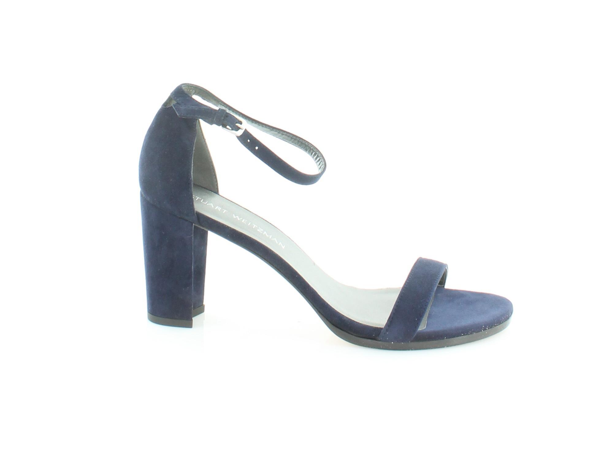 consegna veloce e spedizione gratuita per tutti gli ordini Stuart Weitzman Nearly Nude blu donna scarpe Dimensione 10 10 10 M Heels MSRP  398  qualità di prima classe