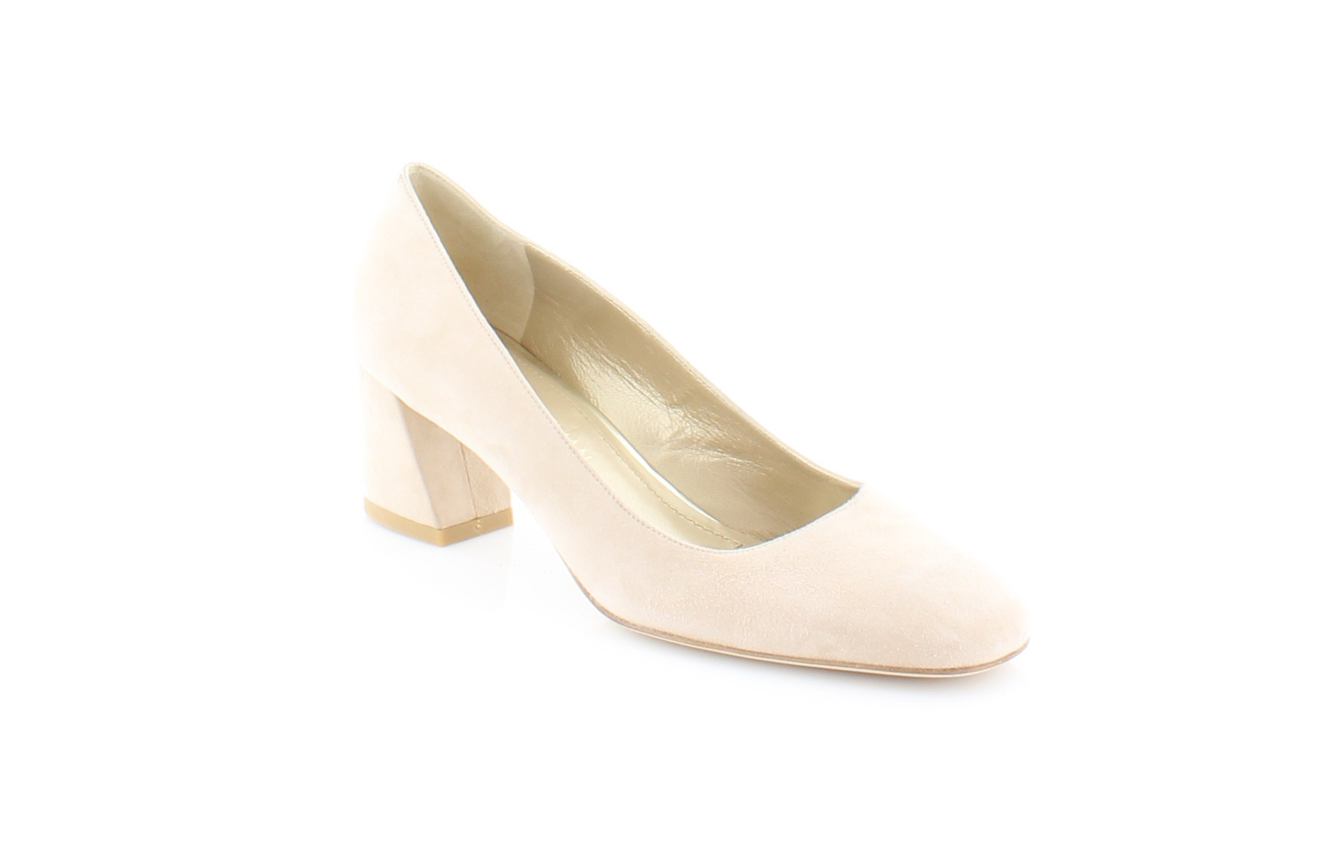 Stuart Weitzman Mary Mid Beige Womens shoes Size 7.5 W Heels MSRP  375