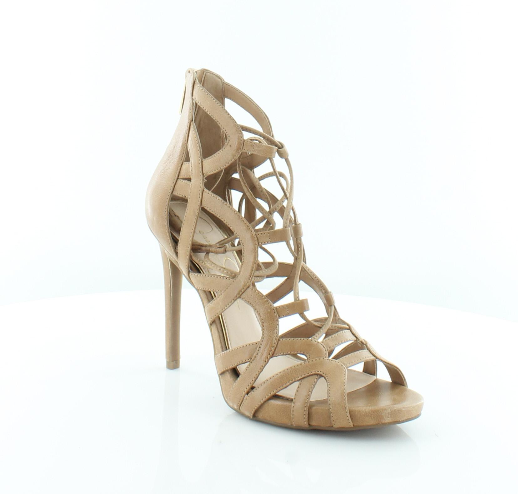dc28cfc413e8 Jessica Simpson Racine Brown Womens Shoes Size 8.5 M Heels MSRP  110 ...