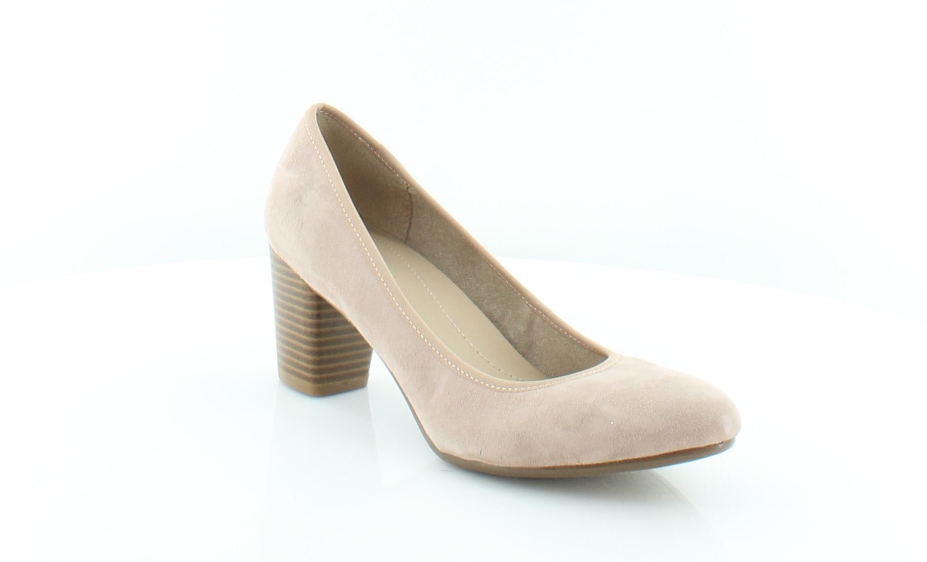 bb34af10a699 Naturalizer Naomi Beige Womens Shoes Size 7 M Heels MSRP  69 ...