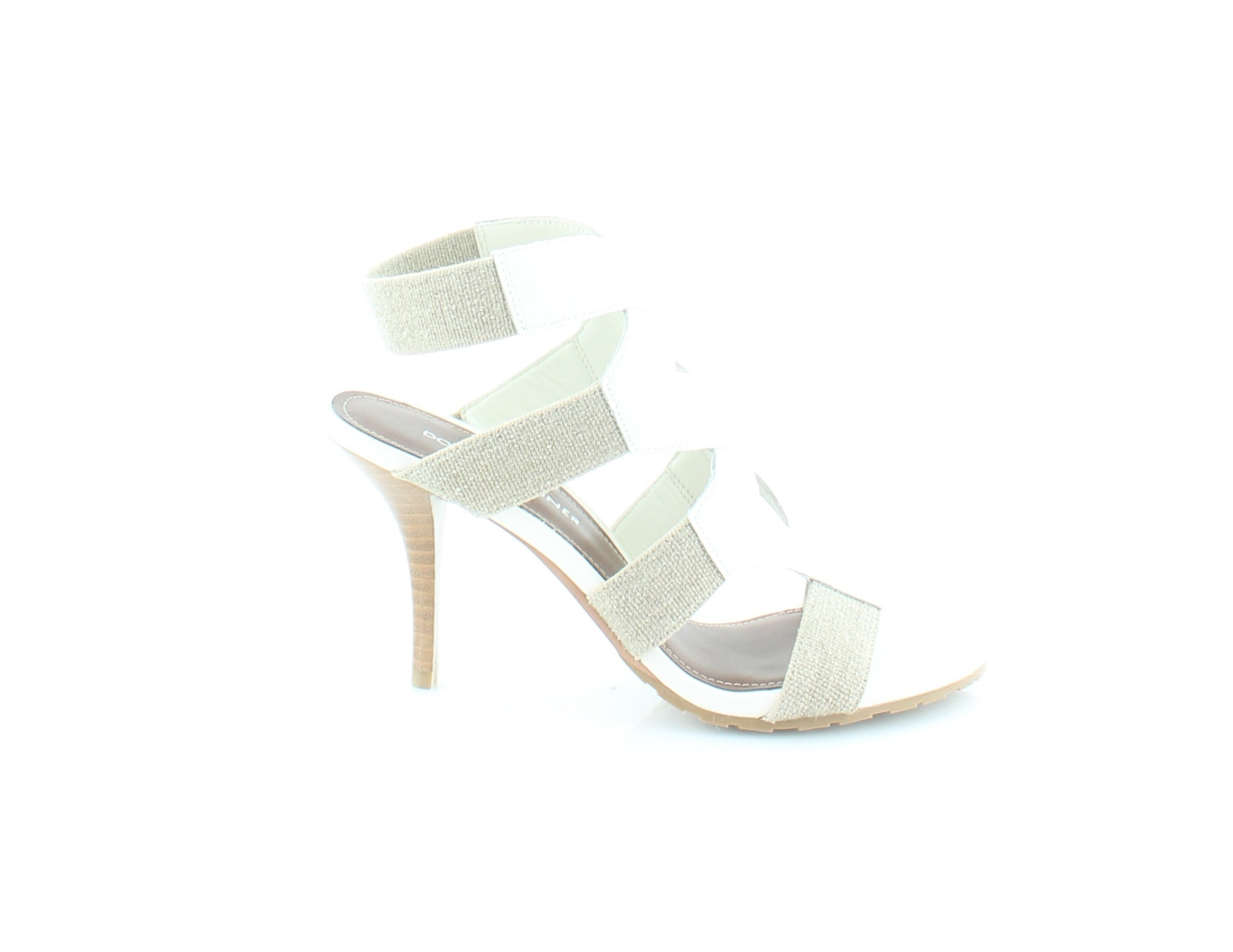 Donald J Pliner Gwen White Womens shoes Size 7.5 M Sandals MSRP  228