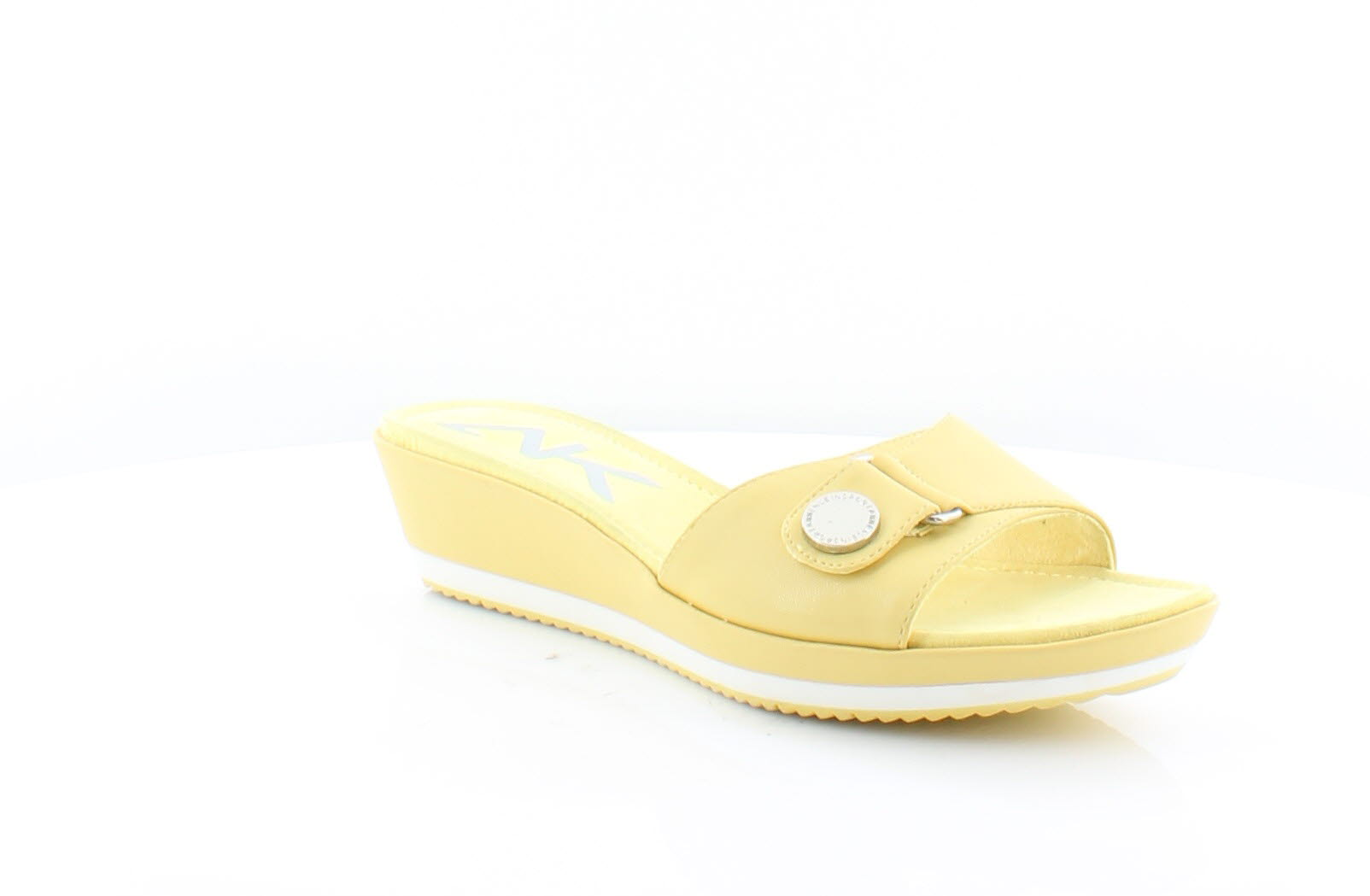 9ca215e1c65 Anne Klein Itemize Yellow Womens Shoes Size 9 M Sandals MSRP  59 ...