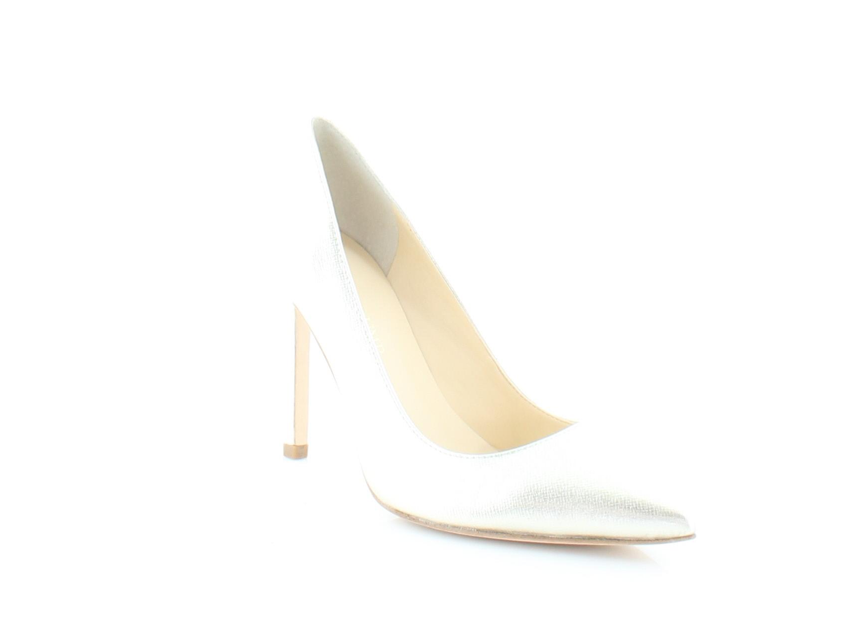 95016514279 Ivanka Trump New Carra Gold Womens Shoes Size 6.5 M Heels MSRP  135 ...
