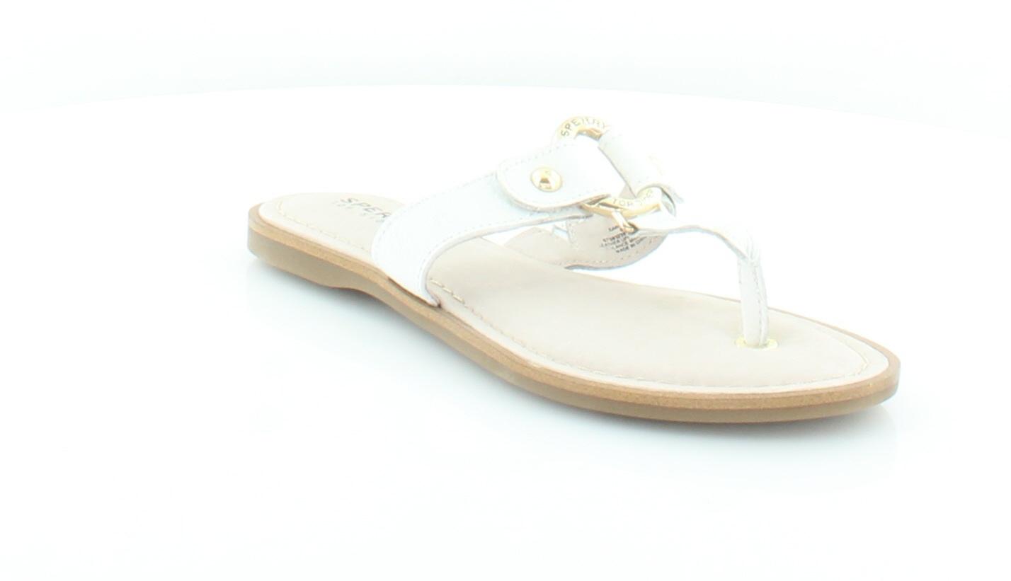 Sperry Top-Sider New Carolina 5 Weiß Damenschuhe Schuhes Größe 5 Carolina M Sandales MSRP 80 f6e3e0