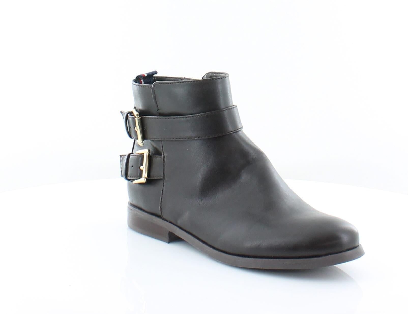 Tommy Hilfiger Hilfiger Tommy New Julie Braun Damenschuhe Schuhes Größe 7.5 M Stiefel MSRP ... 25a715