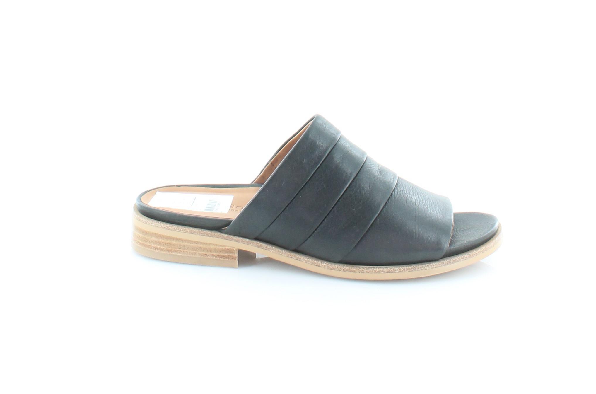 Gentle Souls Nuevo Gayle Negro Sandalias De Mujer Zapatos M precio minorista sugerido por el fabricante