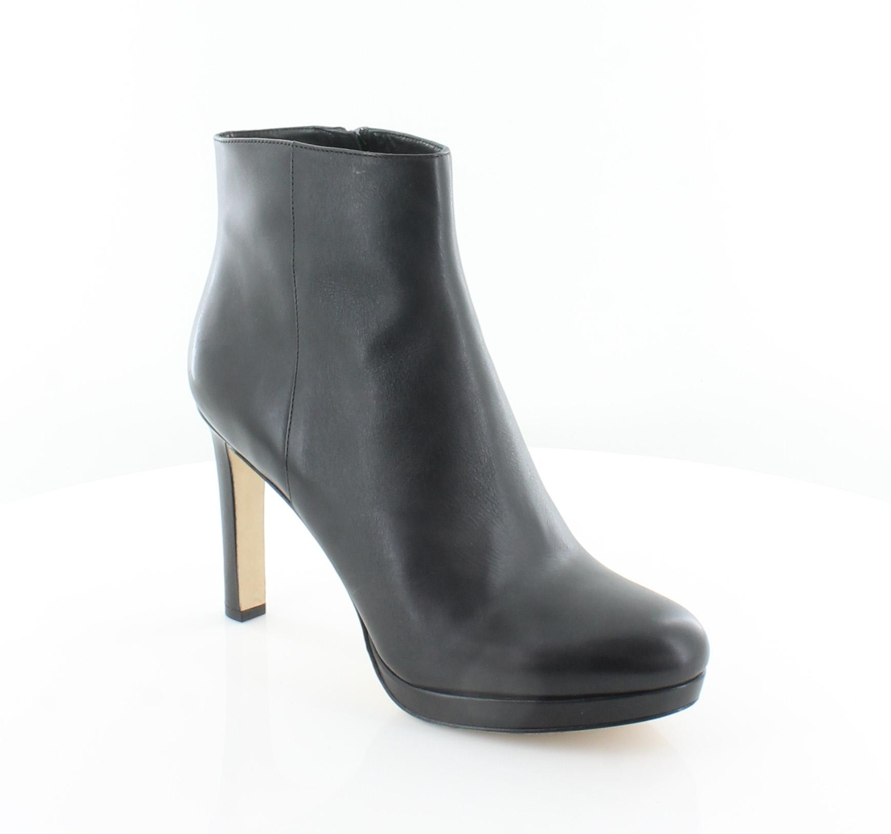 Via Spiga Bettie Black Womens Shoes Size 9 M Boots MSRP $275