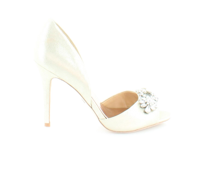 tutti i prodotti ottengono fino al 34% di sconto Badgley Mischka Giana oro donna donna donna scarpe Dimensione 7.5 M Heels MSRP  225  presa di marca