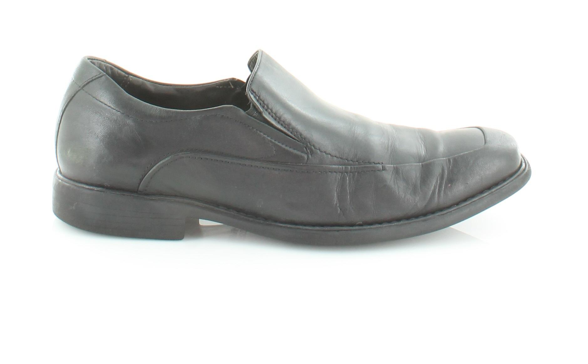Johnston & Shoes Murphy Tilden Black Mens Shoes & 10.5 M Loafers & Slip-Ons MSRP $155 6dc72a
